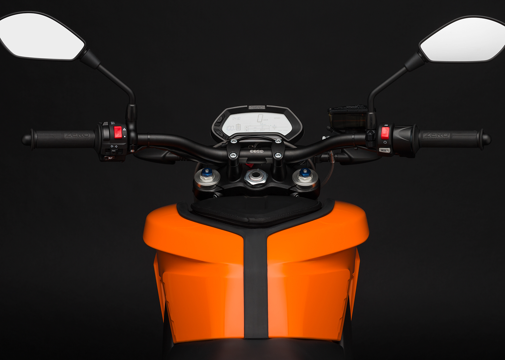 2015 Zero DS Electric Motorcycle: Dash