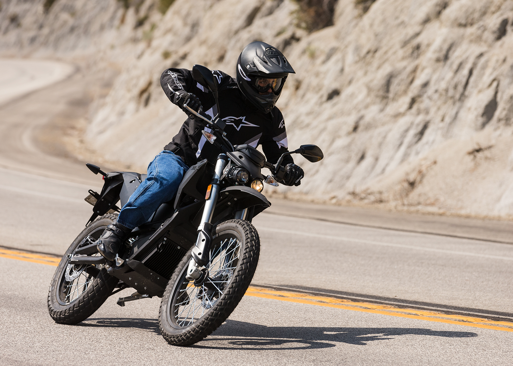 2015 Zero FX Electric Motorcycle: