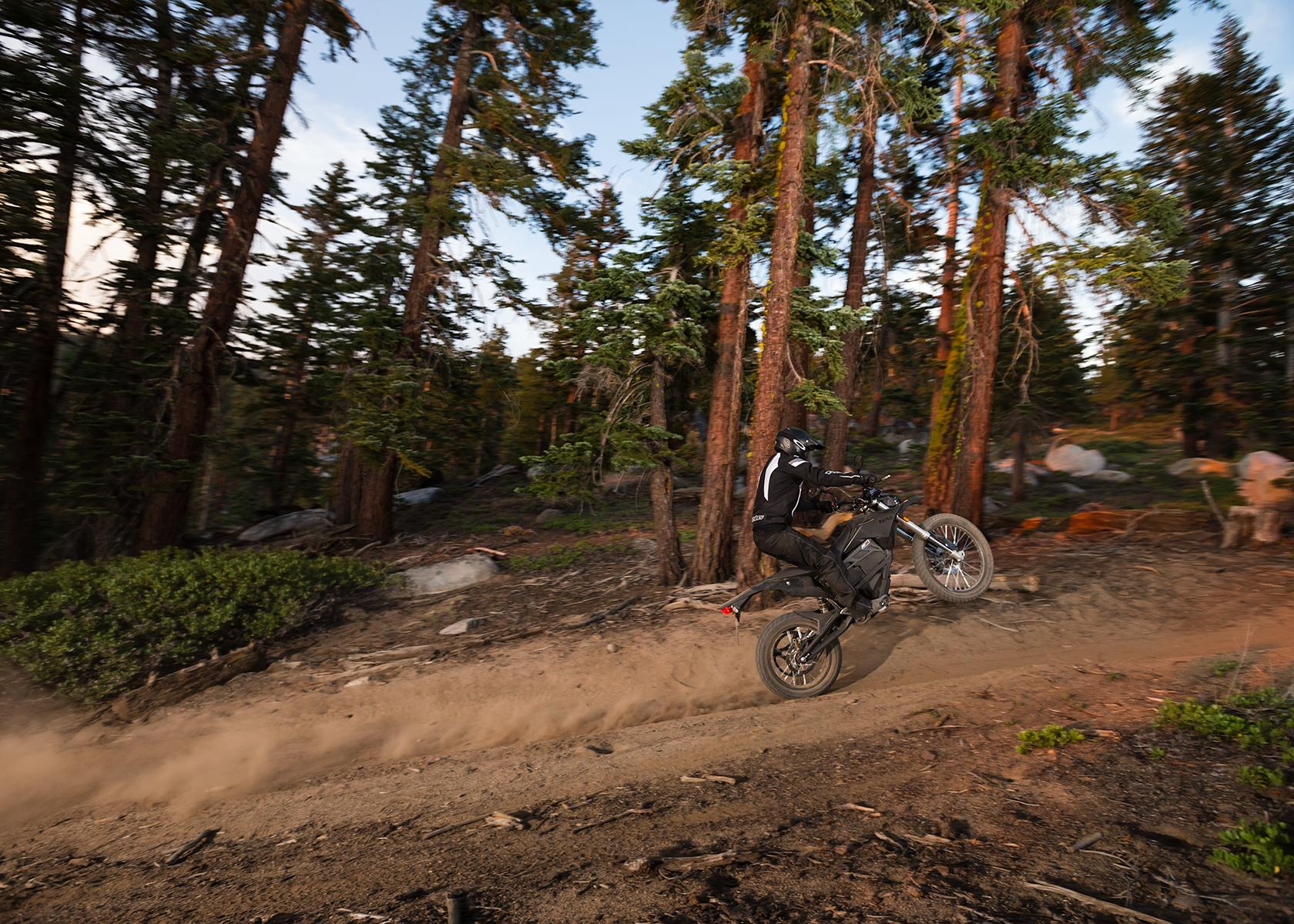 2015 Zero FX Electric Motorcycle: