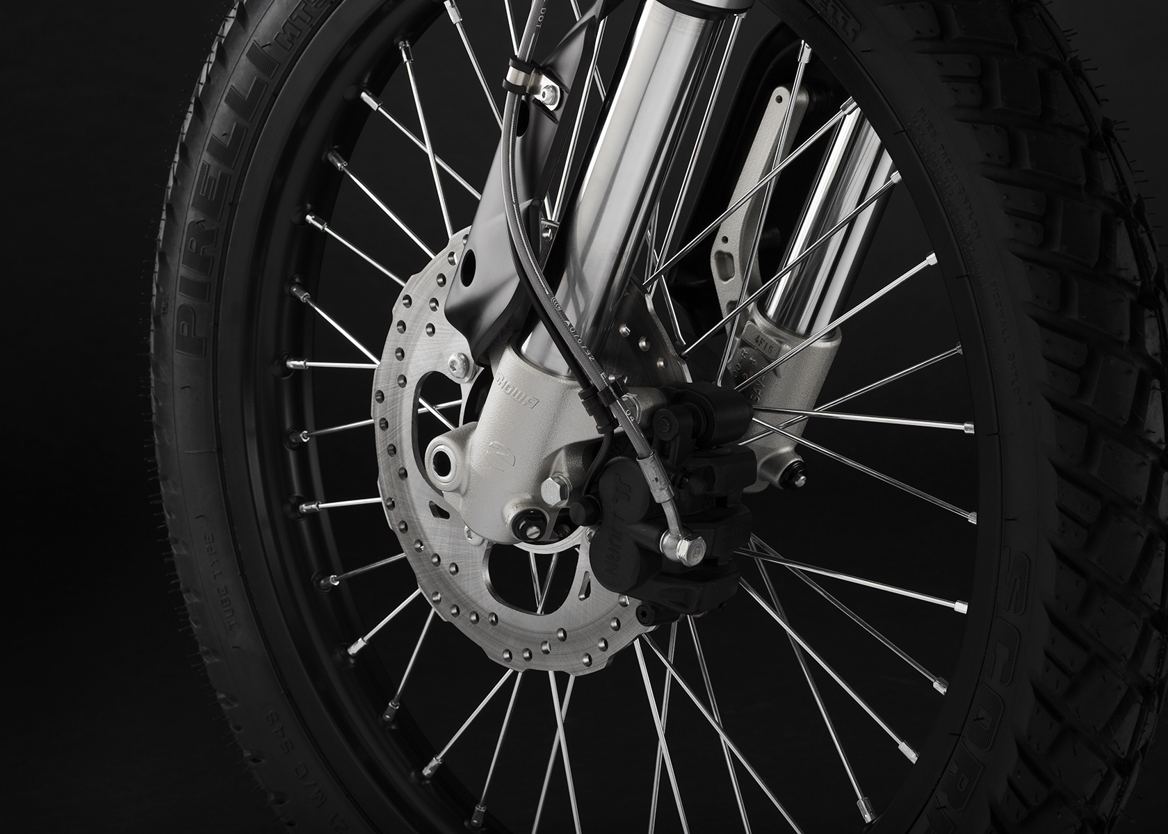 2015 Zero FX Electric Motorcycle: Front Brake
