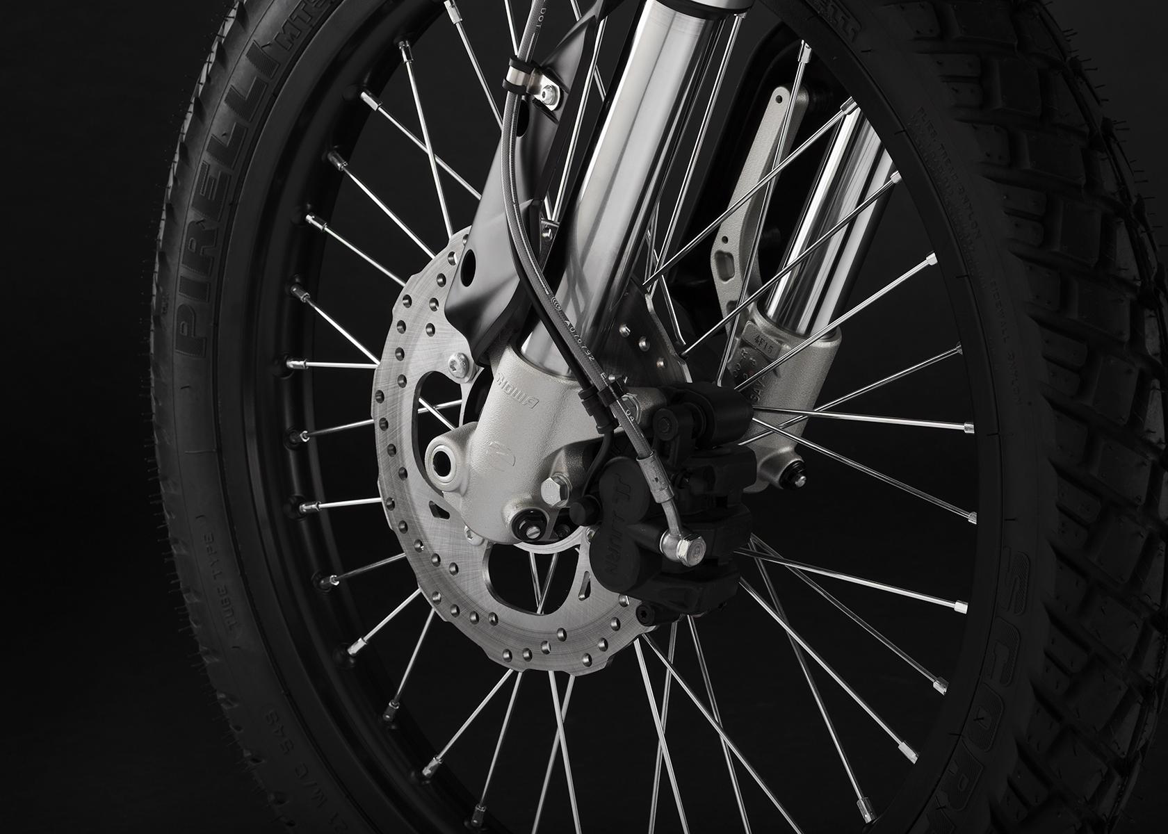 2015 Zero FX Electric Motorcycle: Front Brake