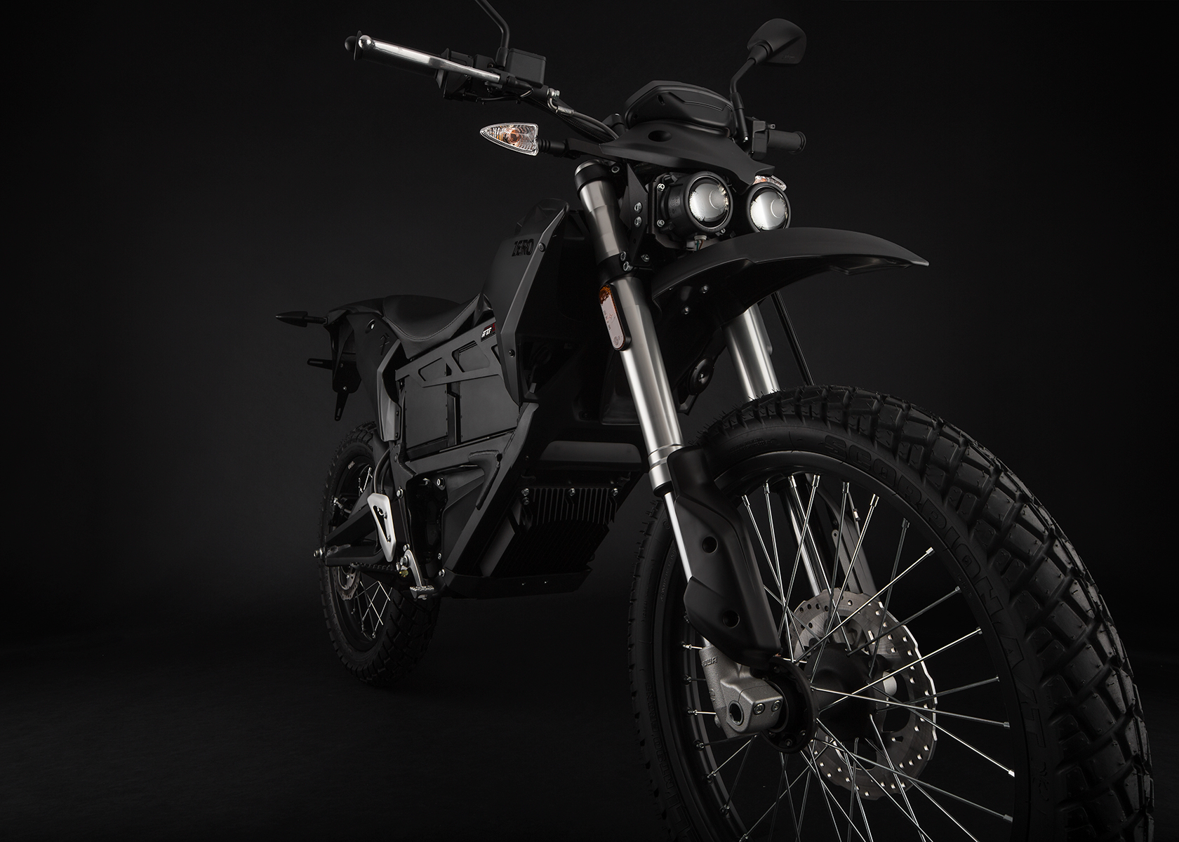 2015 Zero FX Electric Motorcycle: Front Fork