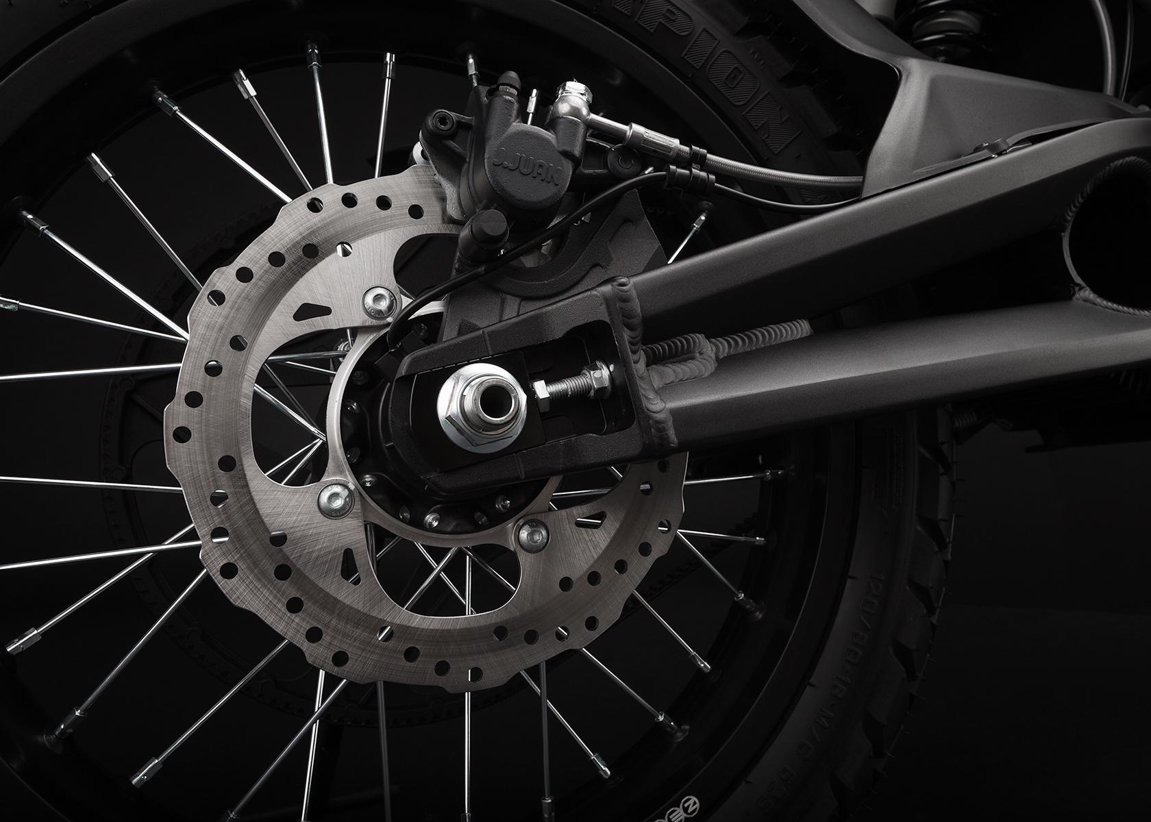 2015 Zero FX Electric Motorcycle: Rear Brake