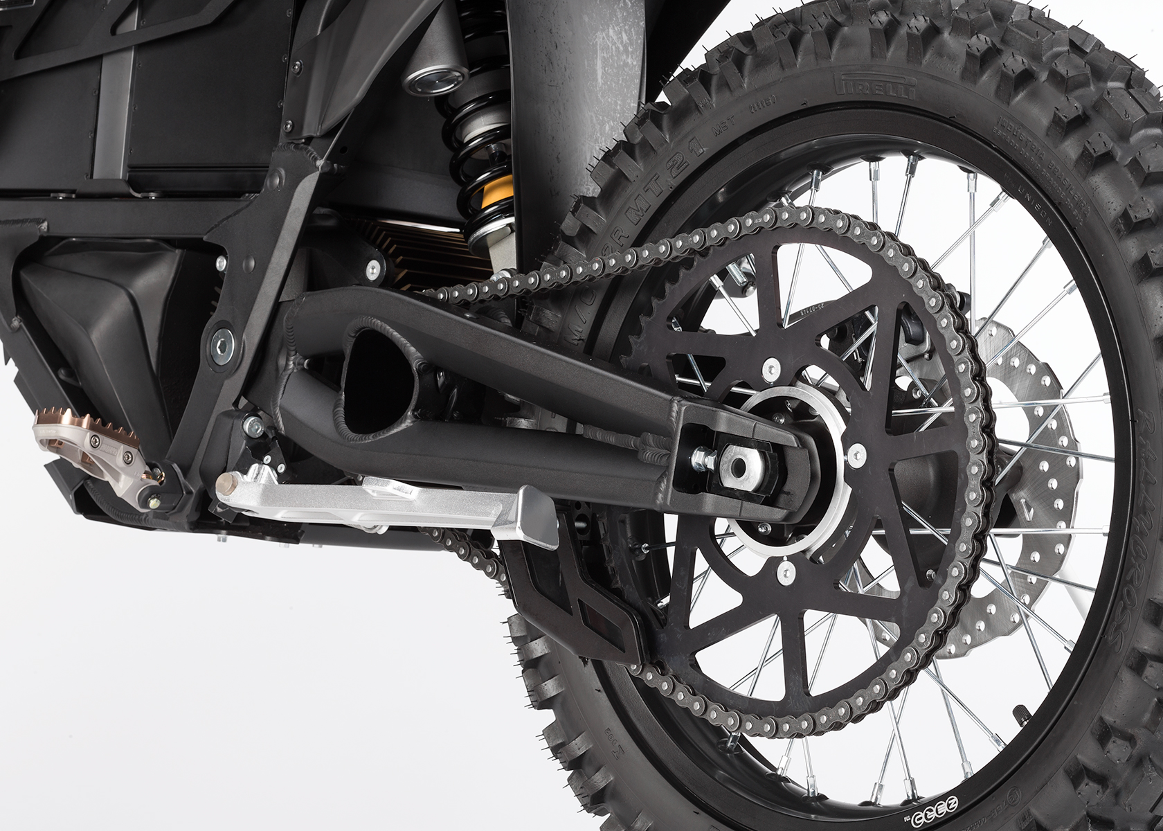 2015 Zero Police Electric Motorcycle: Chain