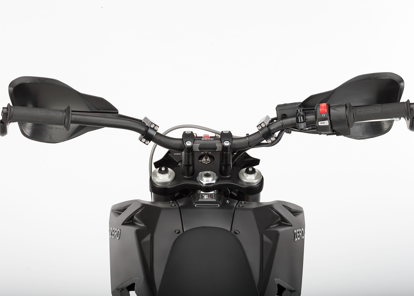 2015 Zero Police Electric Motorcycle: Dash