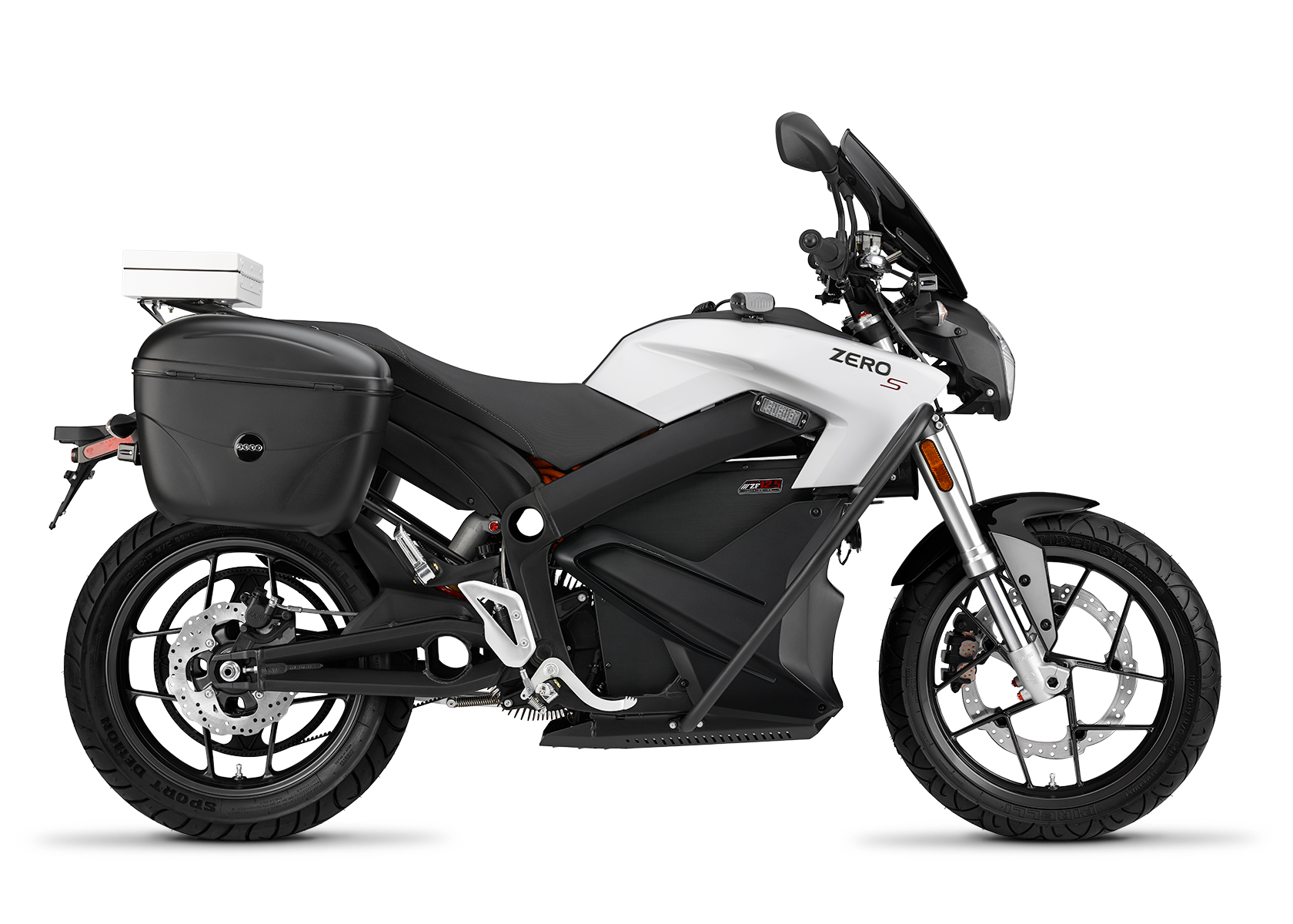 2015 Zero SP Electric Motorcycle: Right profile, White Background