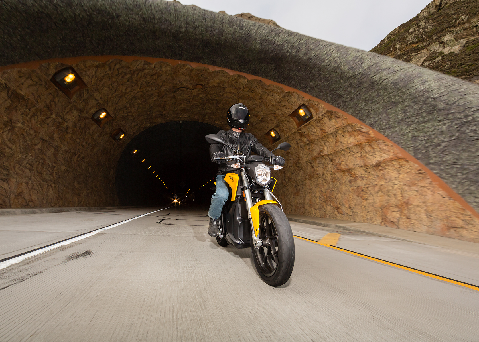 2015 Zero S Electric Motorcycle: