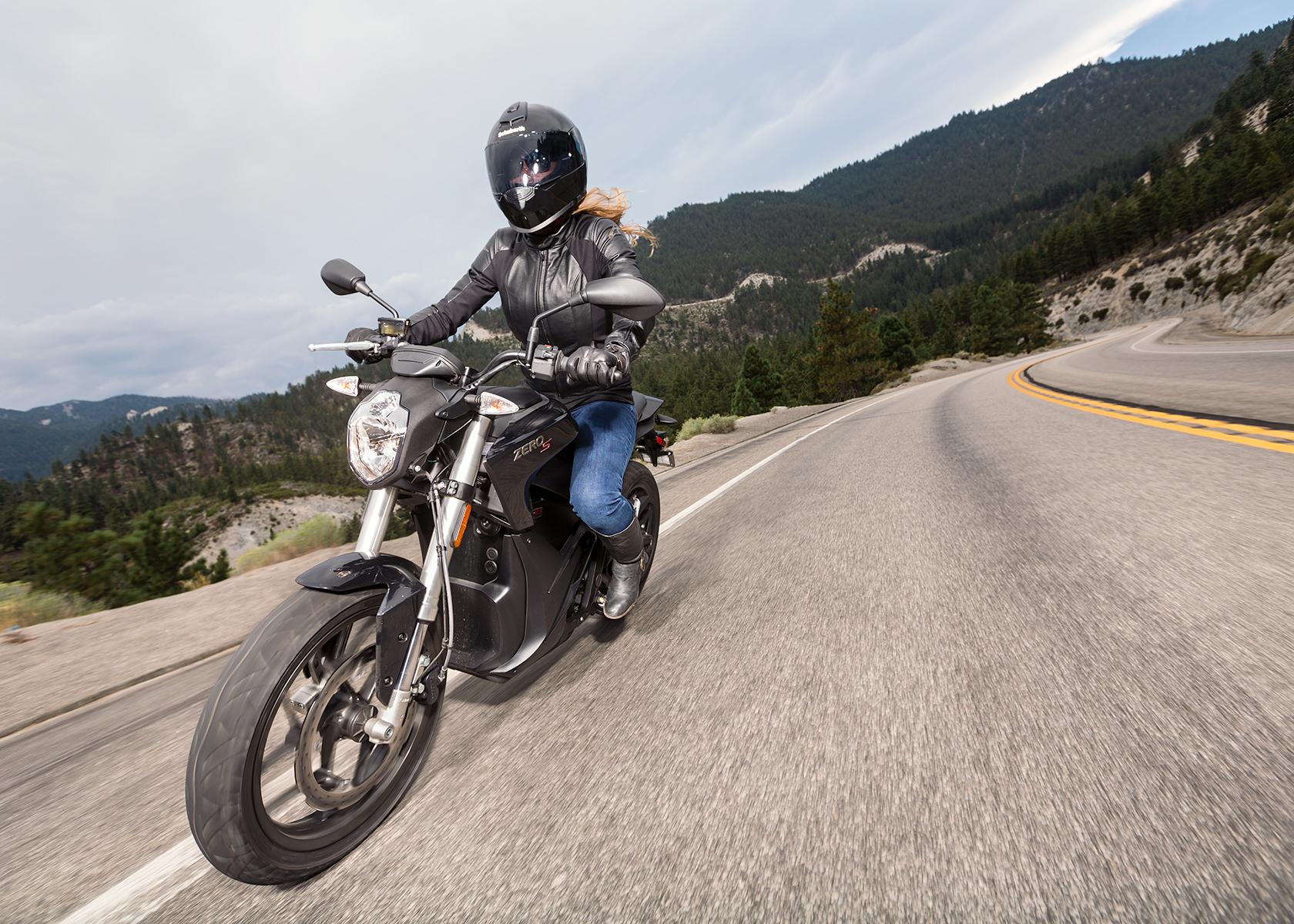 2015 Zero S Electric Motorcycle:
