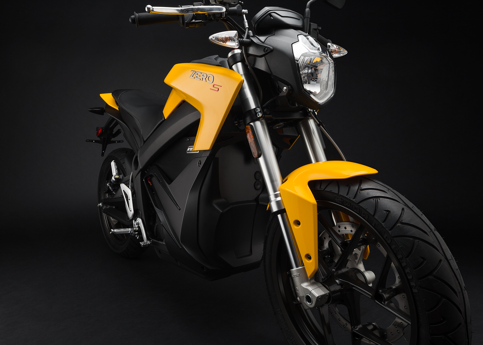 2015 Zero S Electric Motorcycle: Front Fork