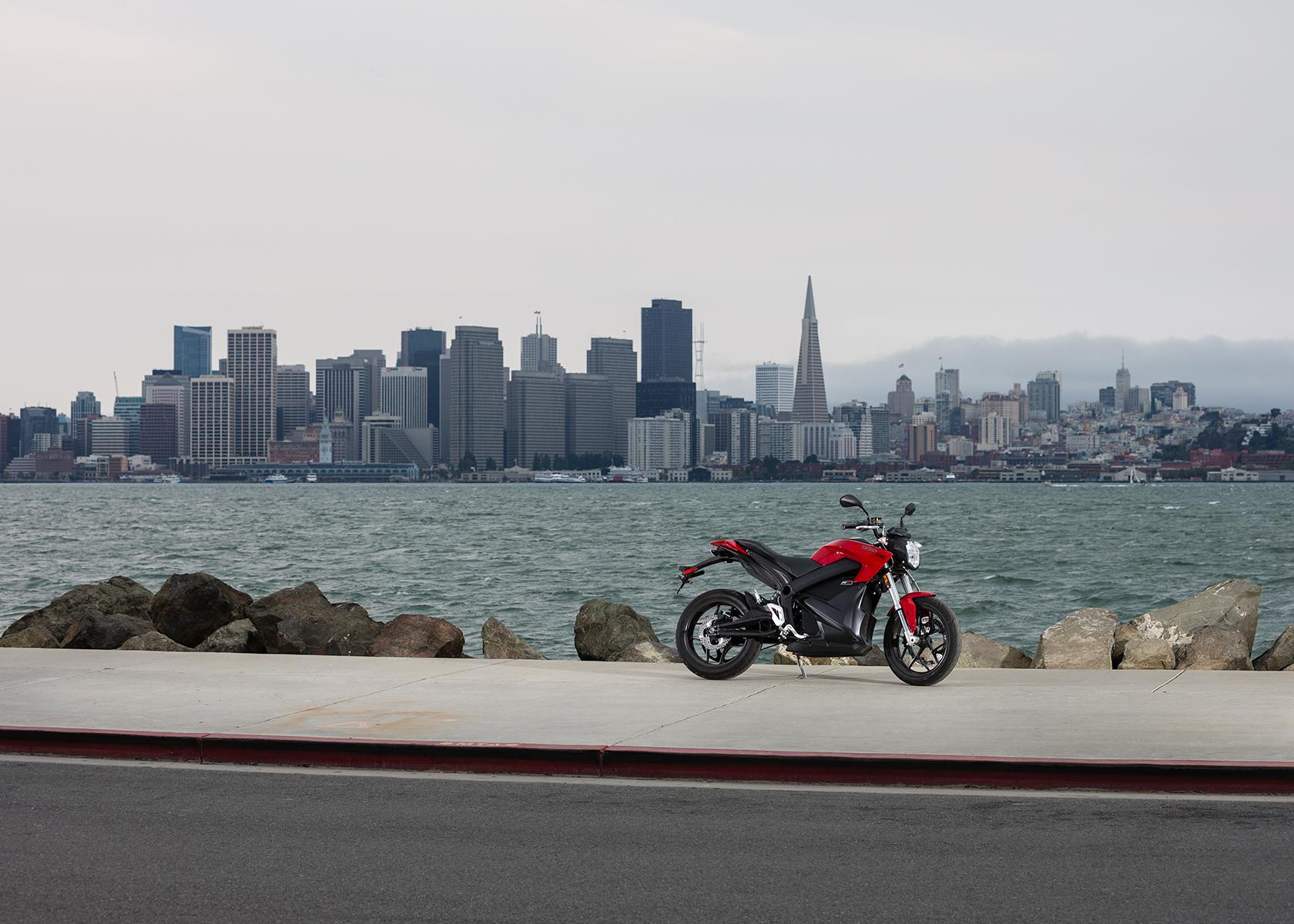 2015 Zero SR Electric Motorcycle: