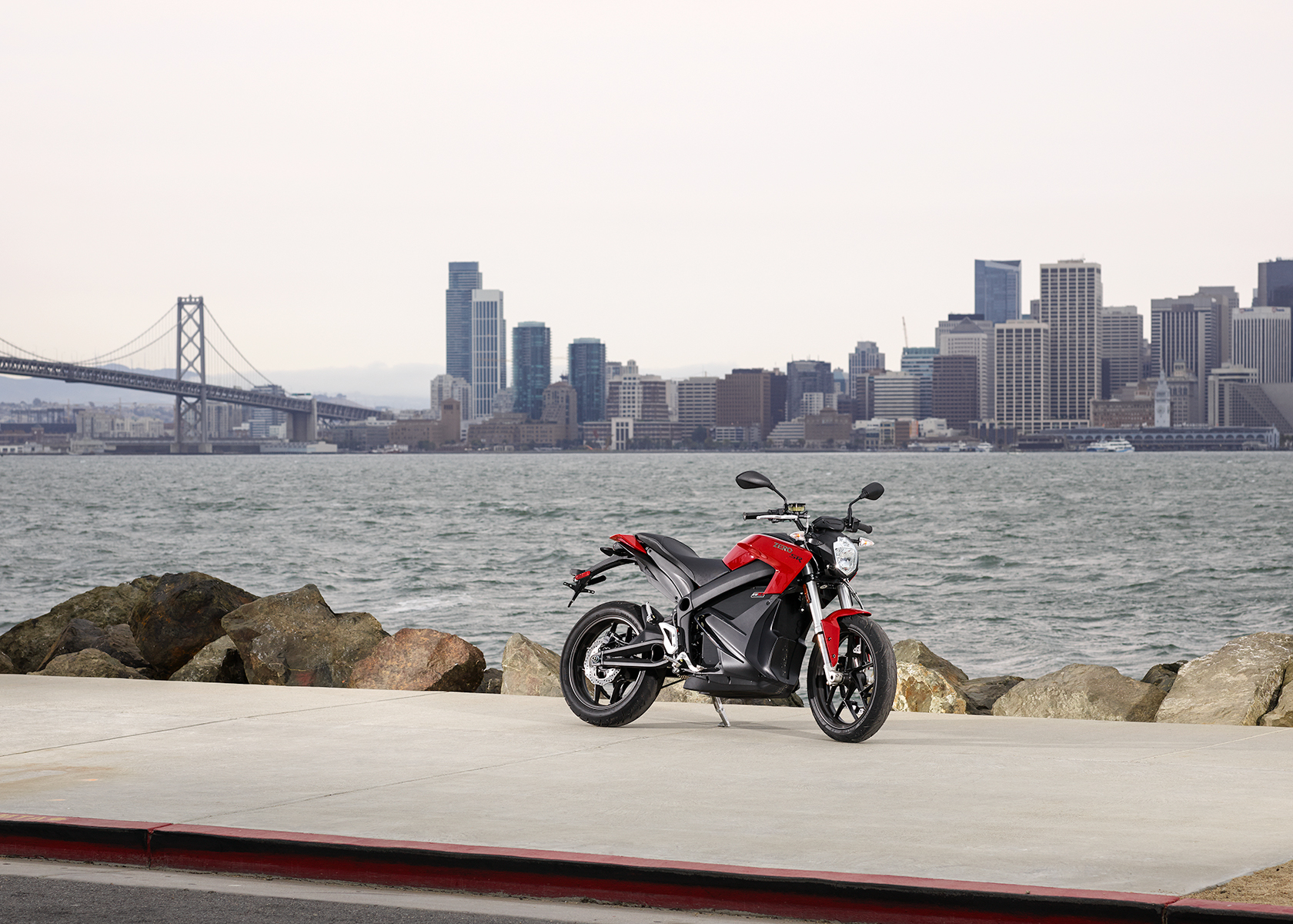 2015 Zero SR Electric Motorcycle: