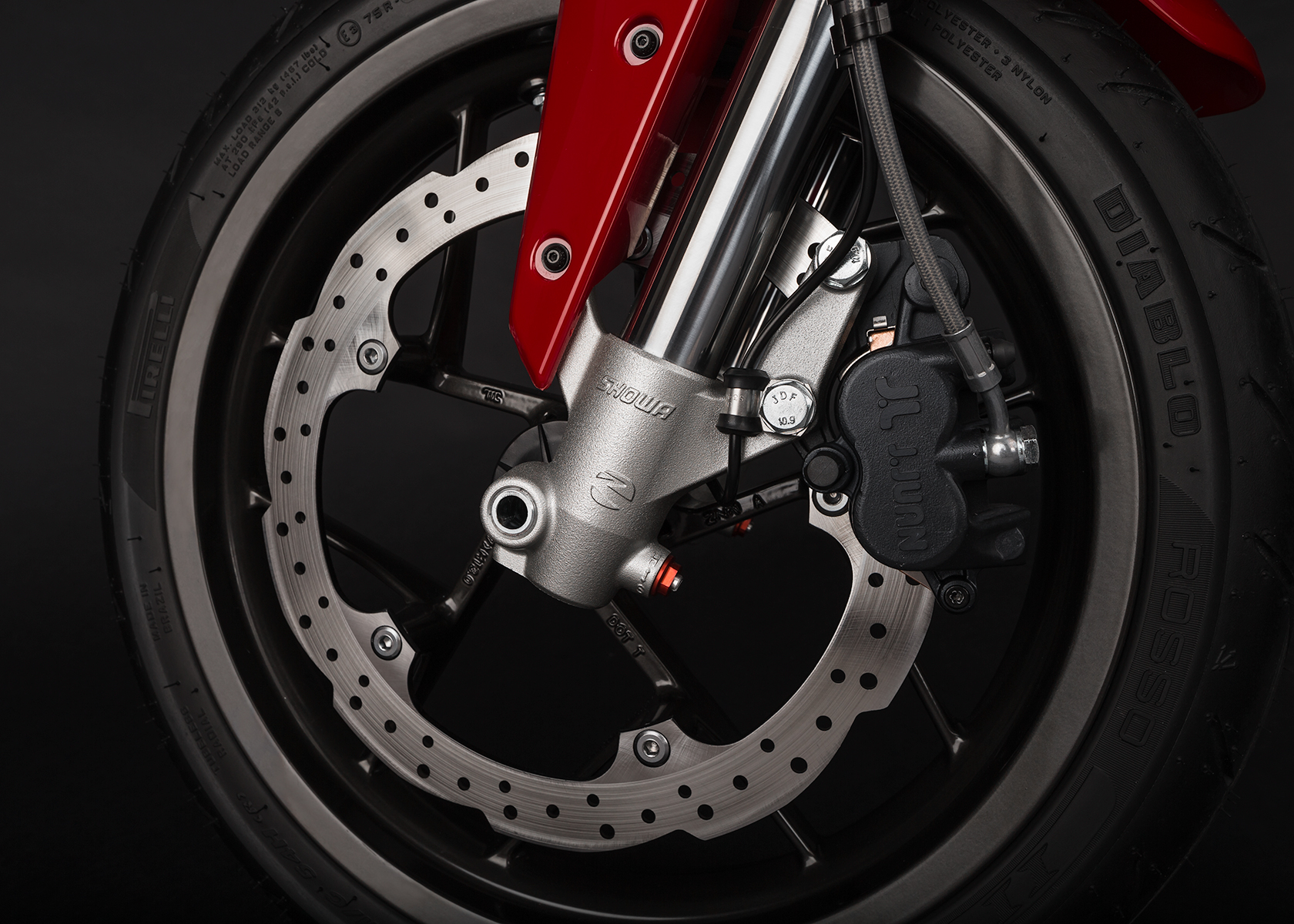 2015 Zero SR Electric Motorcycle: Front Brake