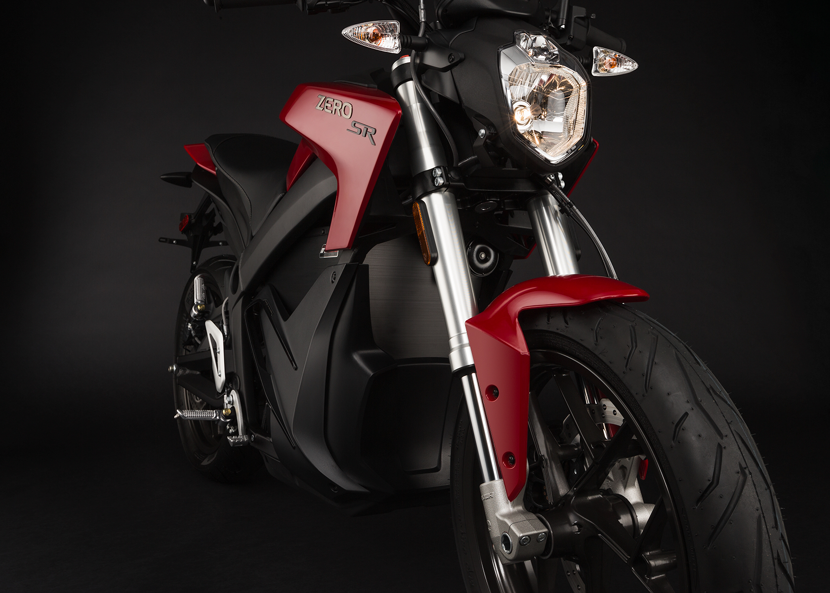2015 Zero SR Electric Motorcycle: Front Fork