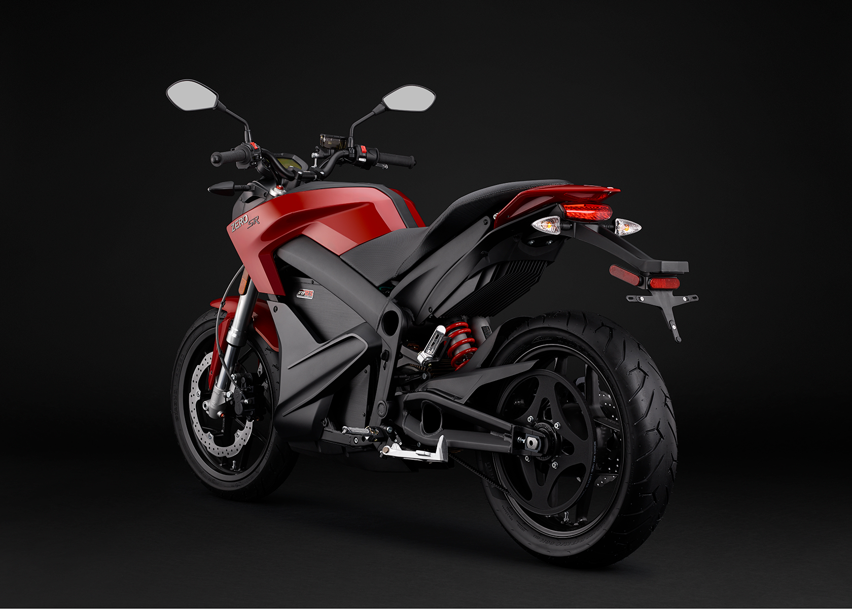 2015 Zero SR Electric Motorcycle: Angle Left