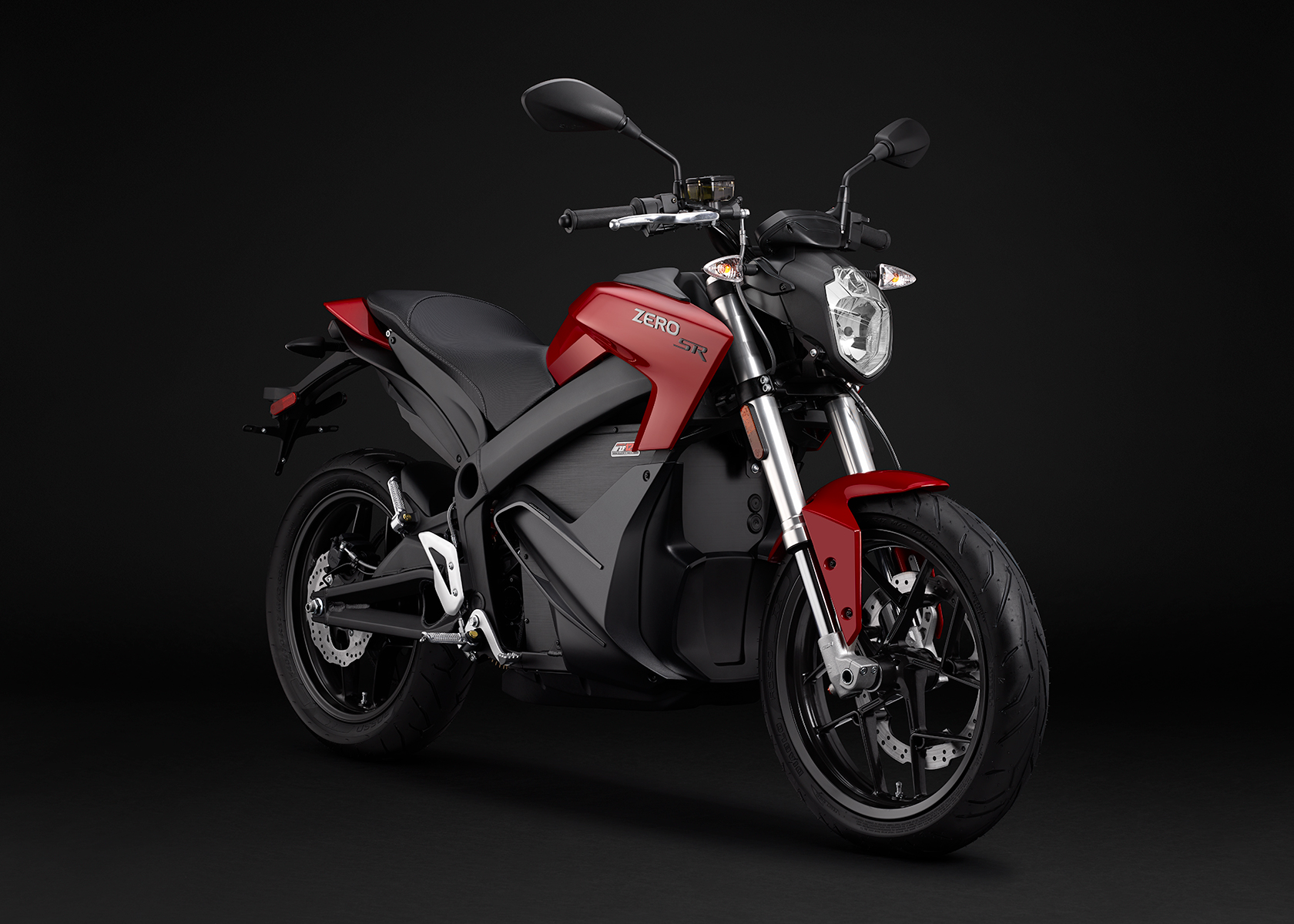 2015 Zero SR Electric Motorcycle: Angle Right