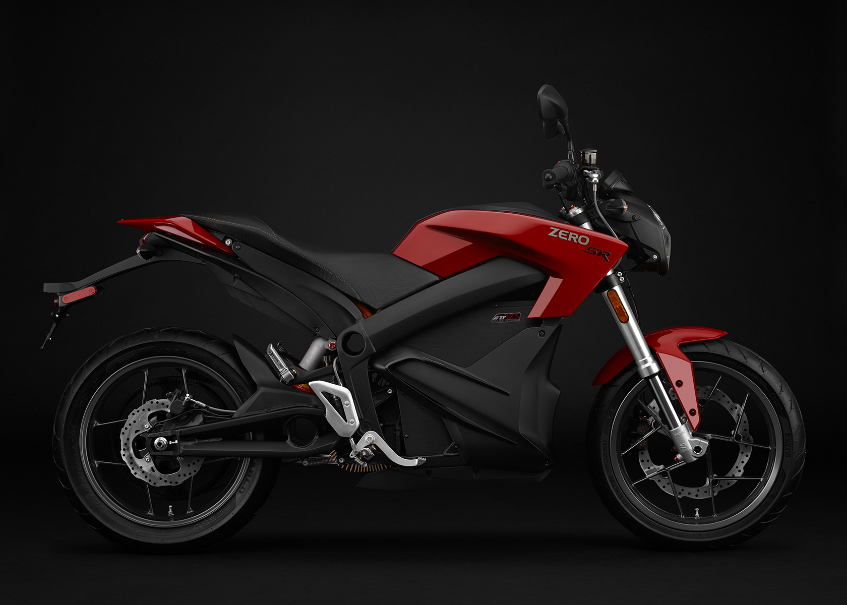 2015 Zero SR Electric Motorcycle: Profile Right