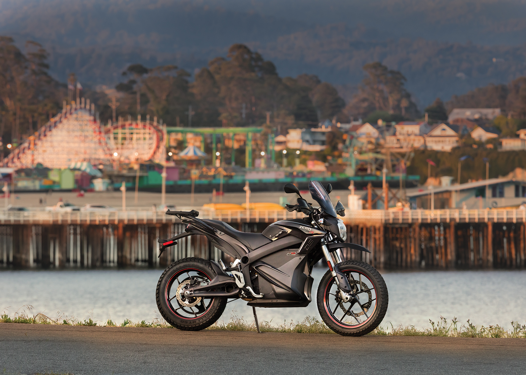 2016 10th Anniversary Zero DSR Electric Motorcycle