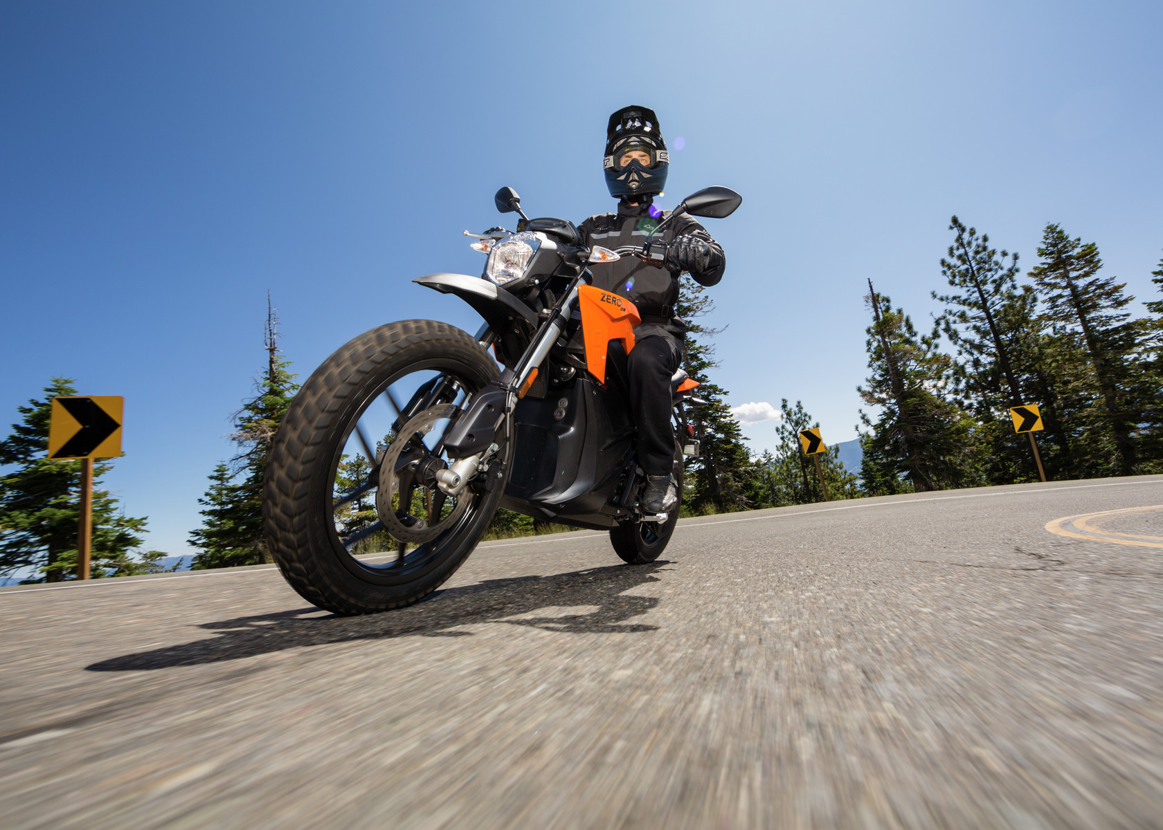 2016 Zero DS Electric Motorcycle: