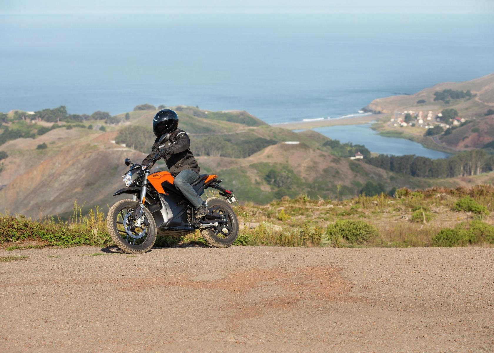 2016 Zero DS Electric Motorcycle: