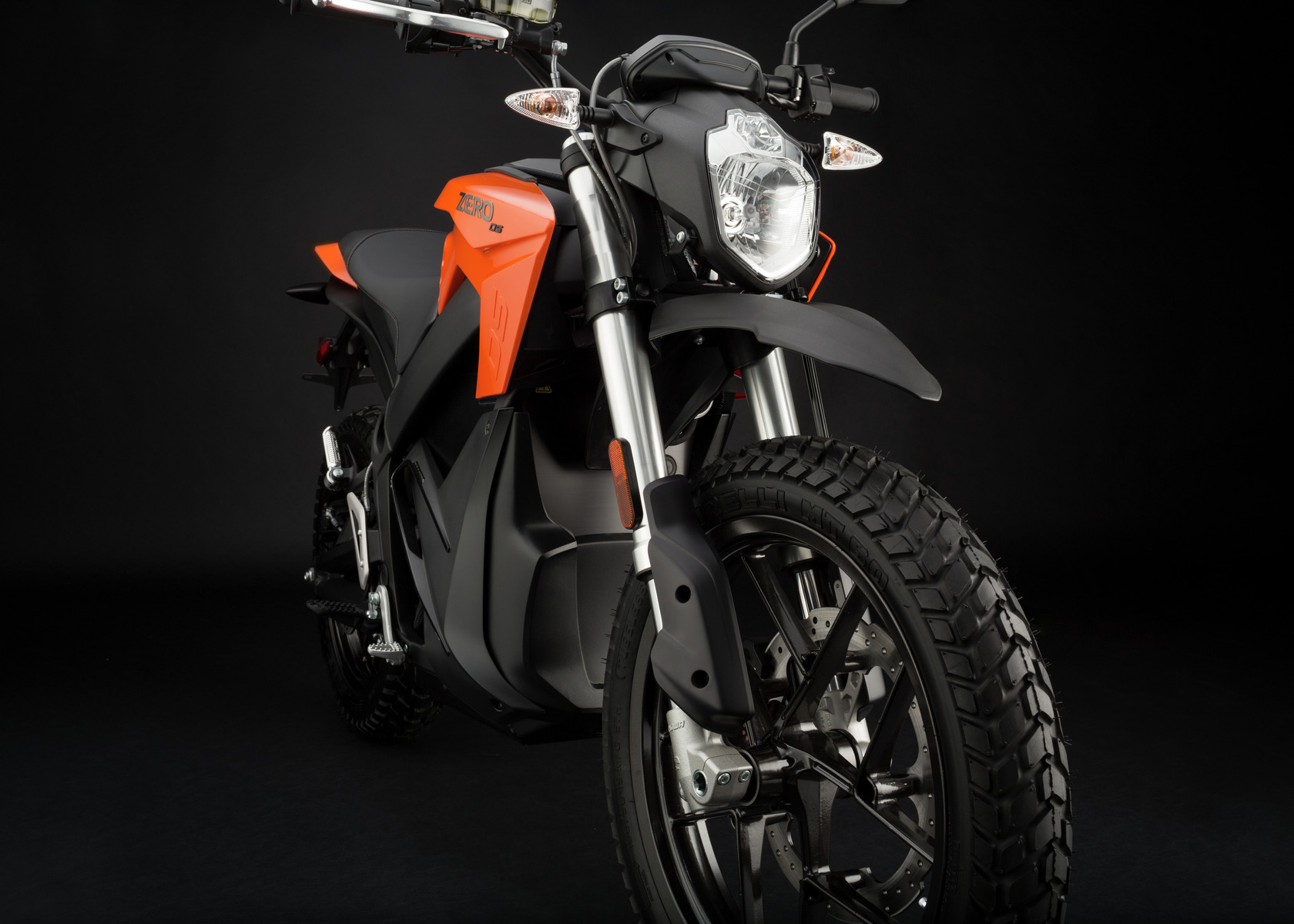 2016 Zero DS Electric Motorcycle: Front Fork