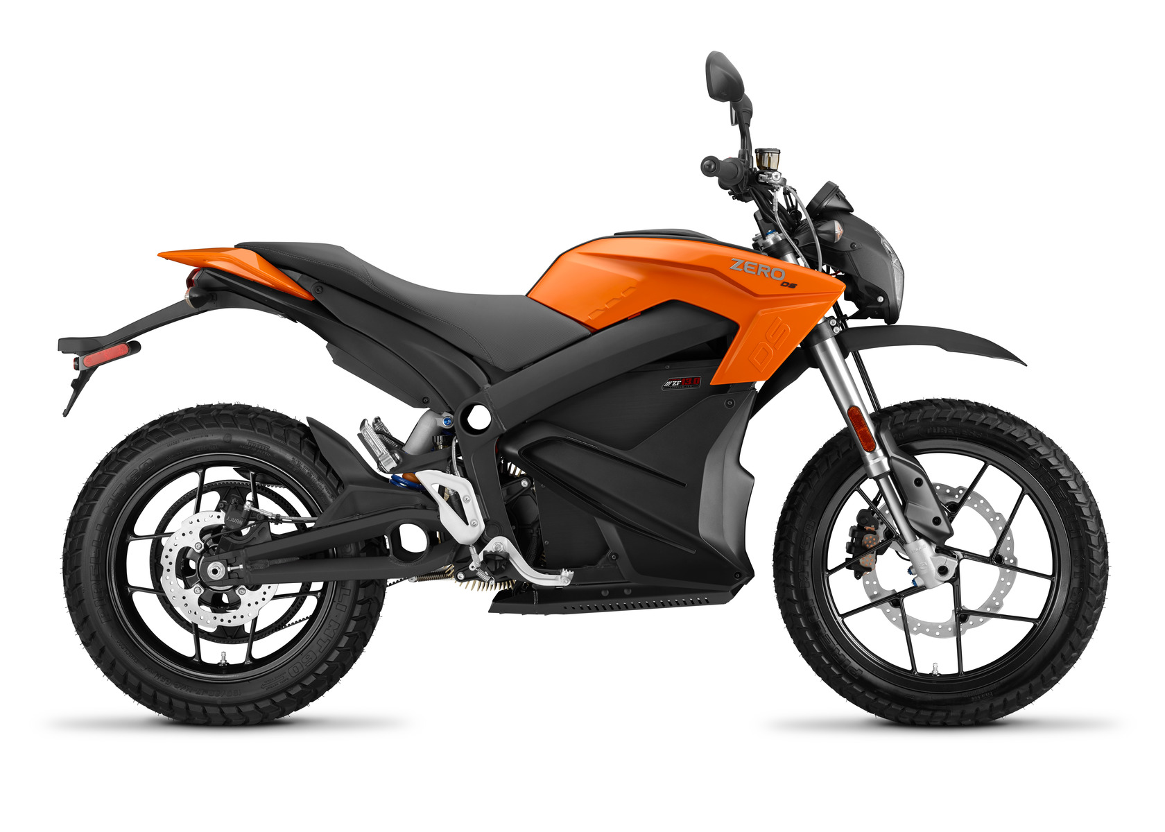 2016 Zero DS Electric Motorcycle: Profile Right, White Background