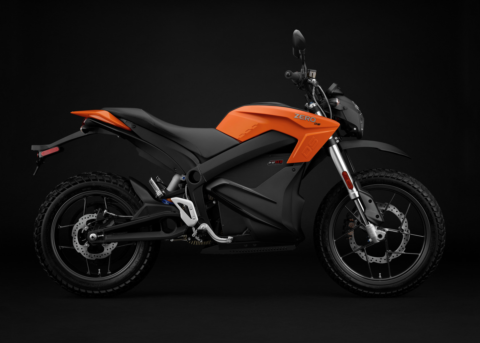 2016 Zero DS Electric Motorcycle: Profile Right