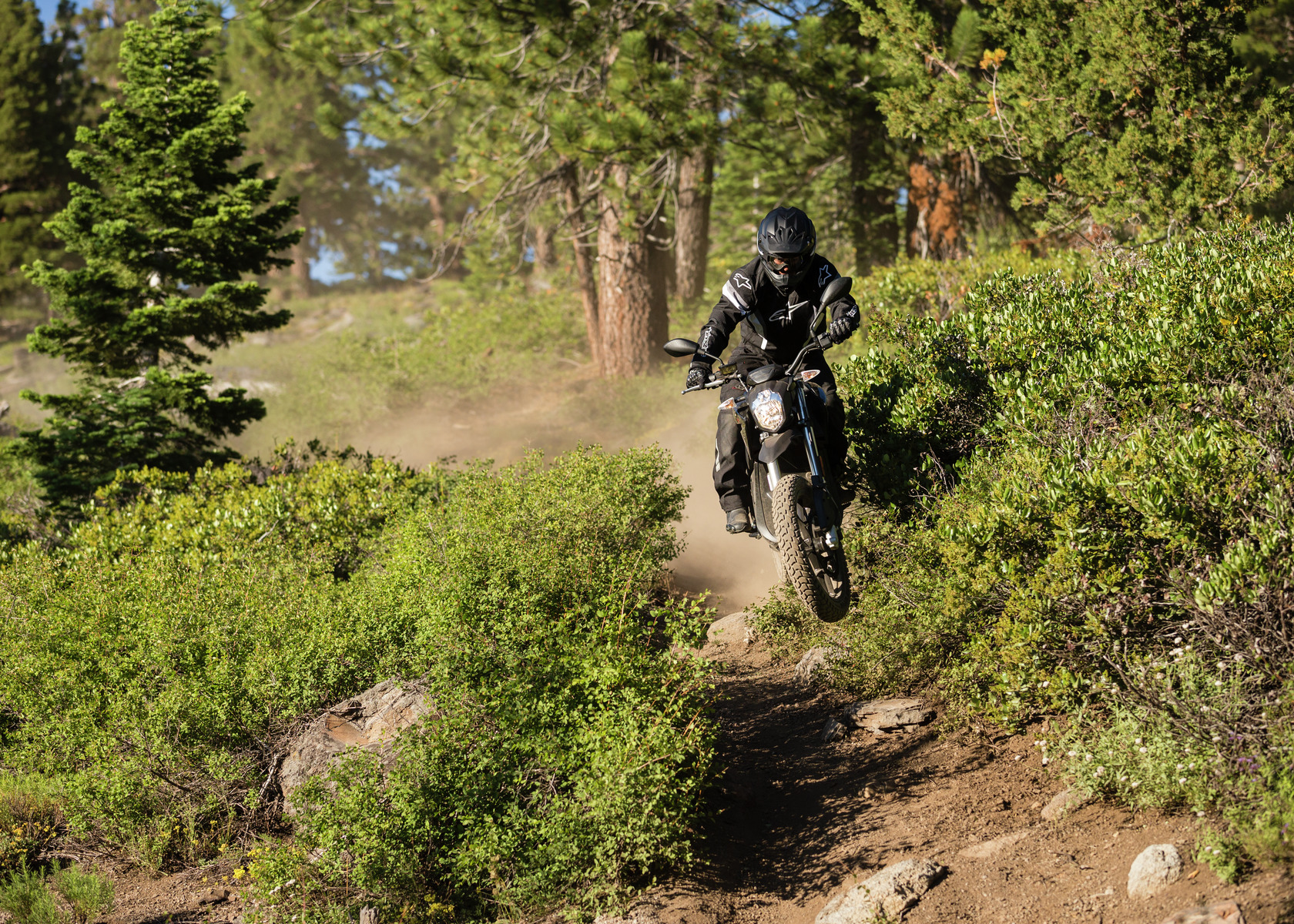 2017 Zero DSR Electric Motorcycle: