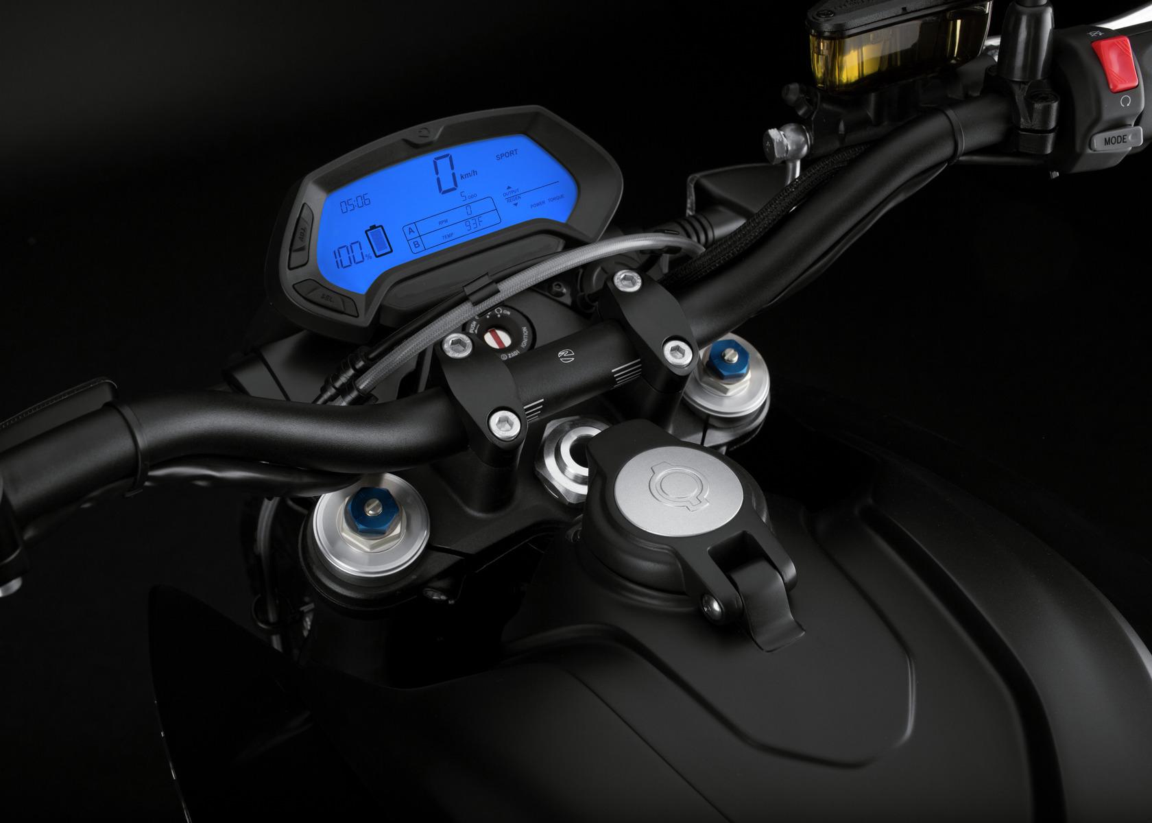 2016 Zero DSR Electric Motorcycle: Dashboard