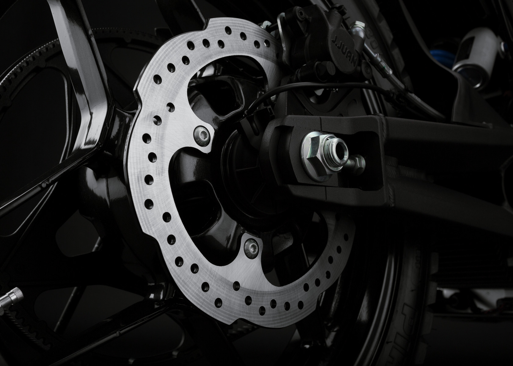 2016 Zero DSR Electric Motorcycle: Rear Brake