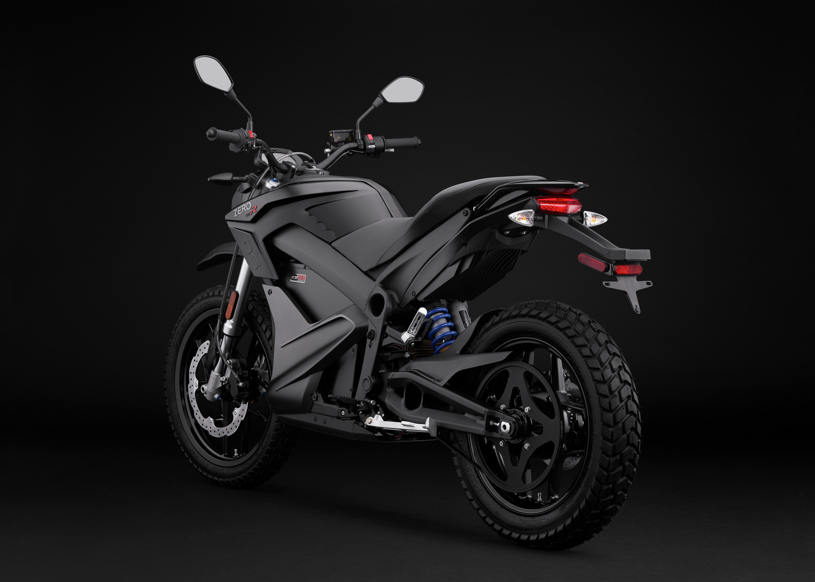 2016 Zero DSR Electric Motorcycle: Angle Left