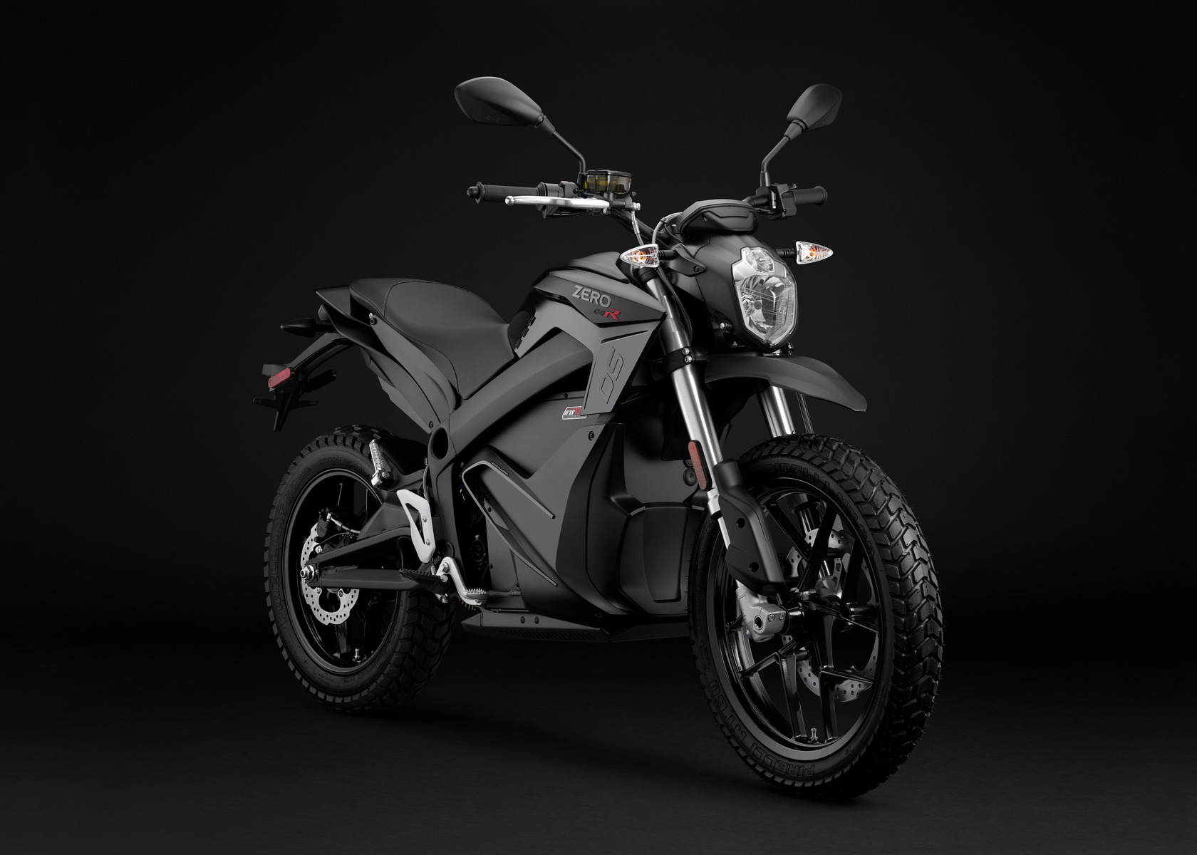 2016 Zero DSR Electric Motorcycle: Angle Right