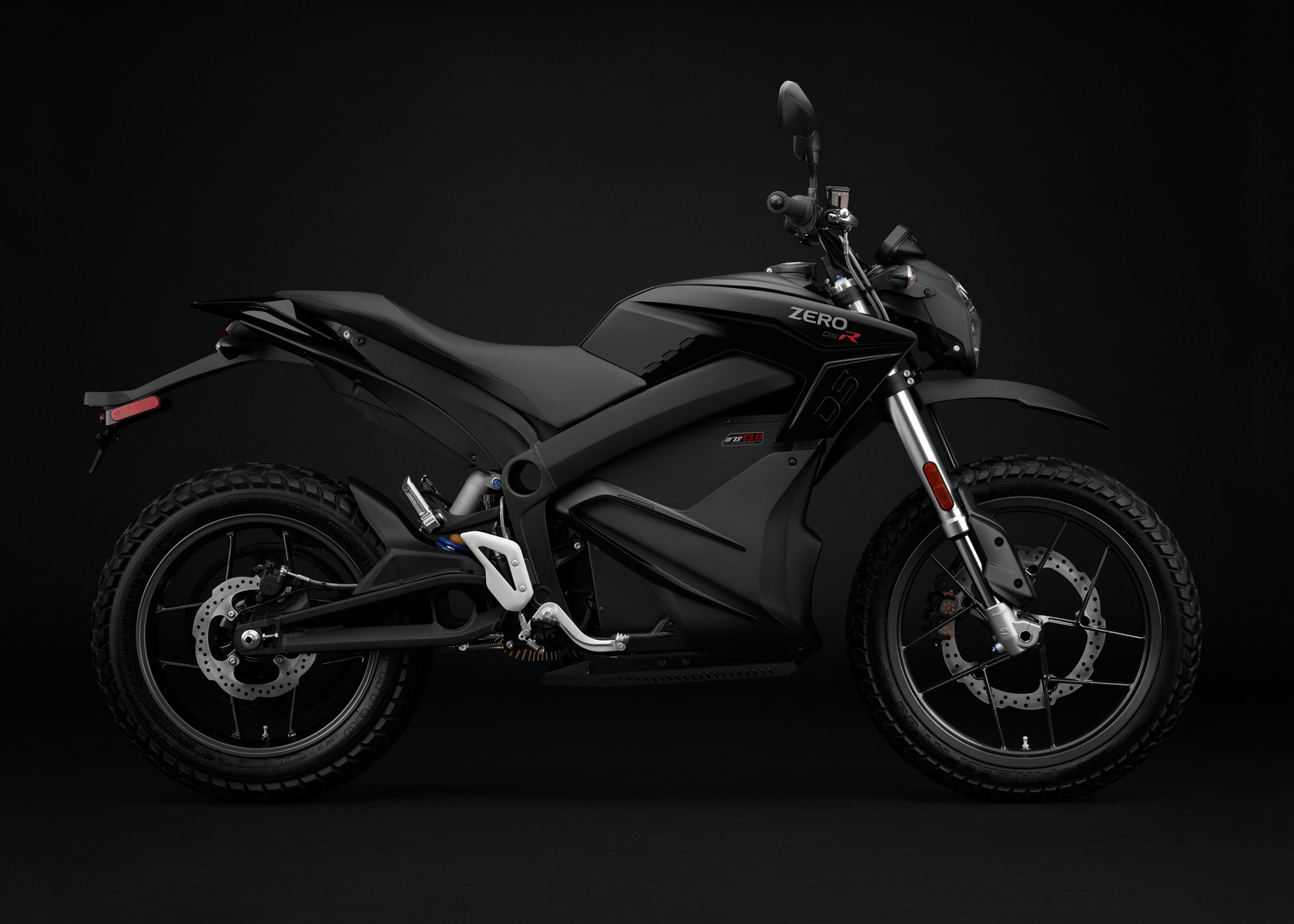 2016 Zero DSR Electric Motorcycle: Profile Right
