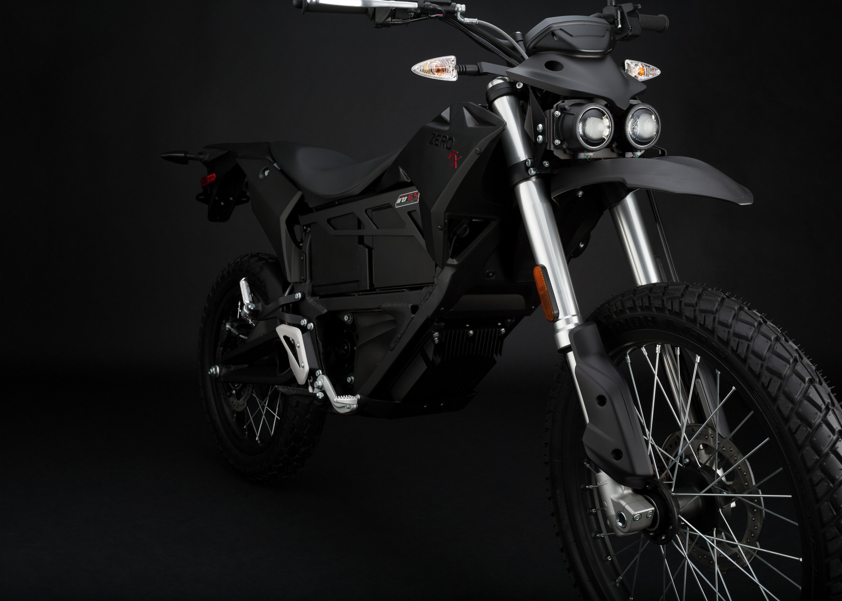 2016 Zero FX Electric Motorcycle: Front Fork