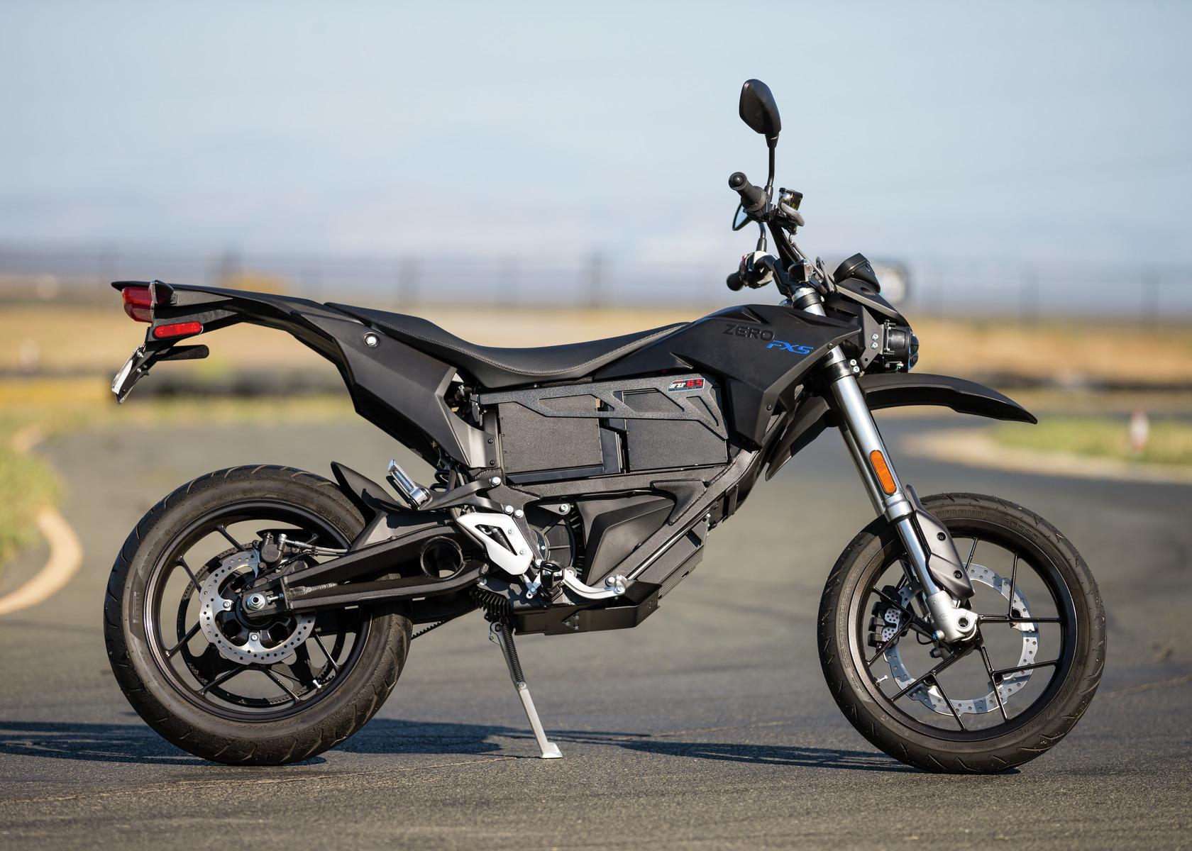 2016 Zero FXS Electric Motorcycle: