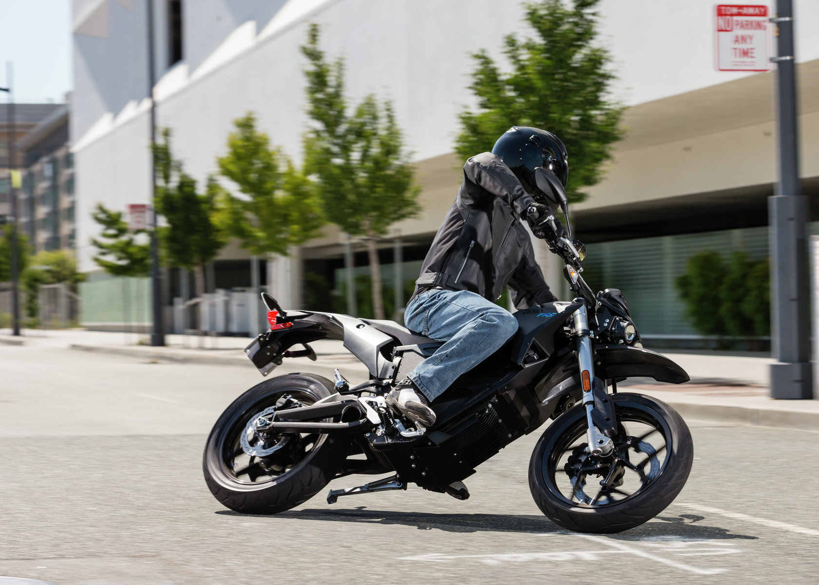 2017 Zero FXS Electric Motorcycle: