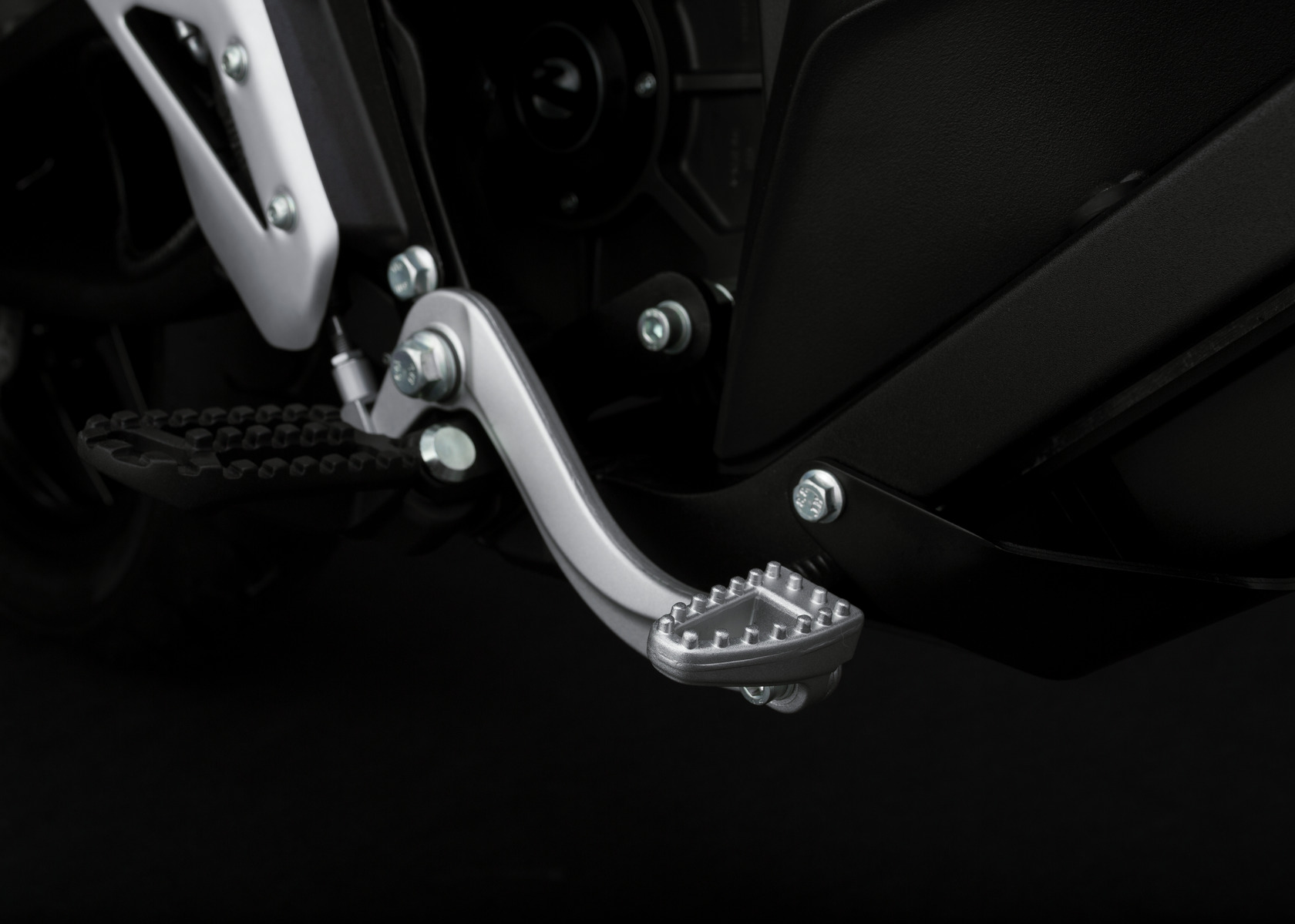 2016 Zero FXS Electric Motorcycle: Brake Pedal