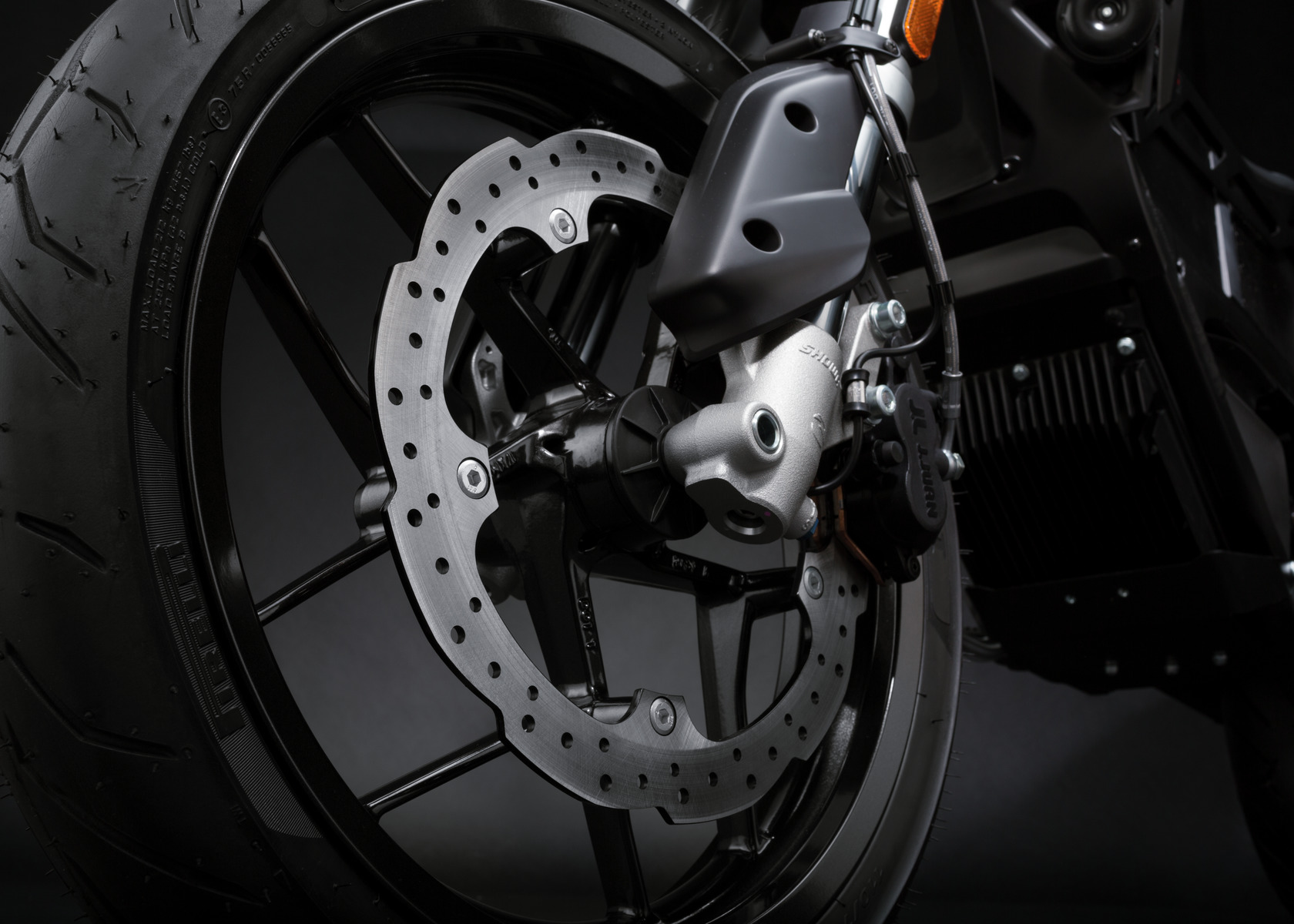 2016 Zero FXS Electric Motorcycle: Front Brake