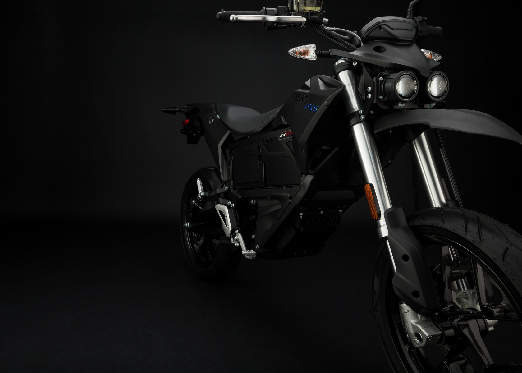 2016 Zero FXS Electric Motorcycle: Front Fork