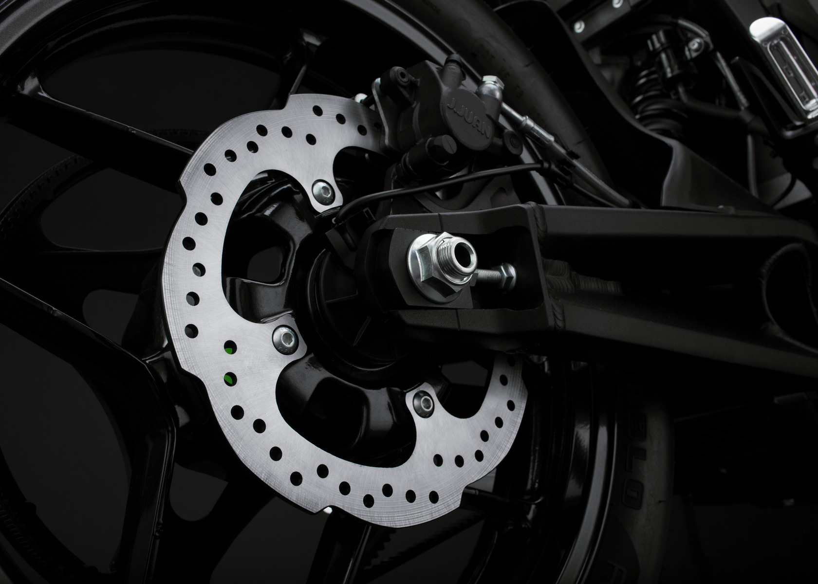 2018 Zero FXS Electric Motorcycle: Rear Brake