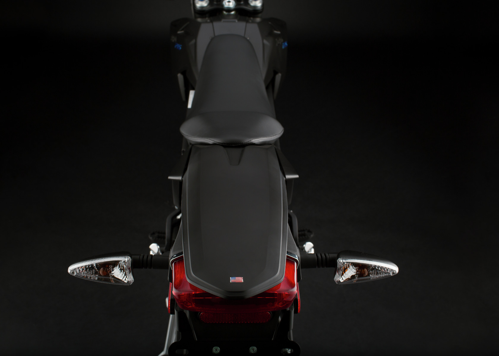 2016 Zero FXS Electric Motorcycle: Rear View
