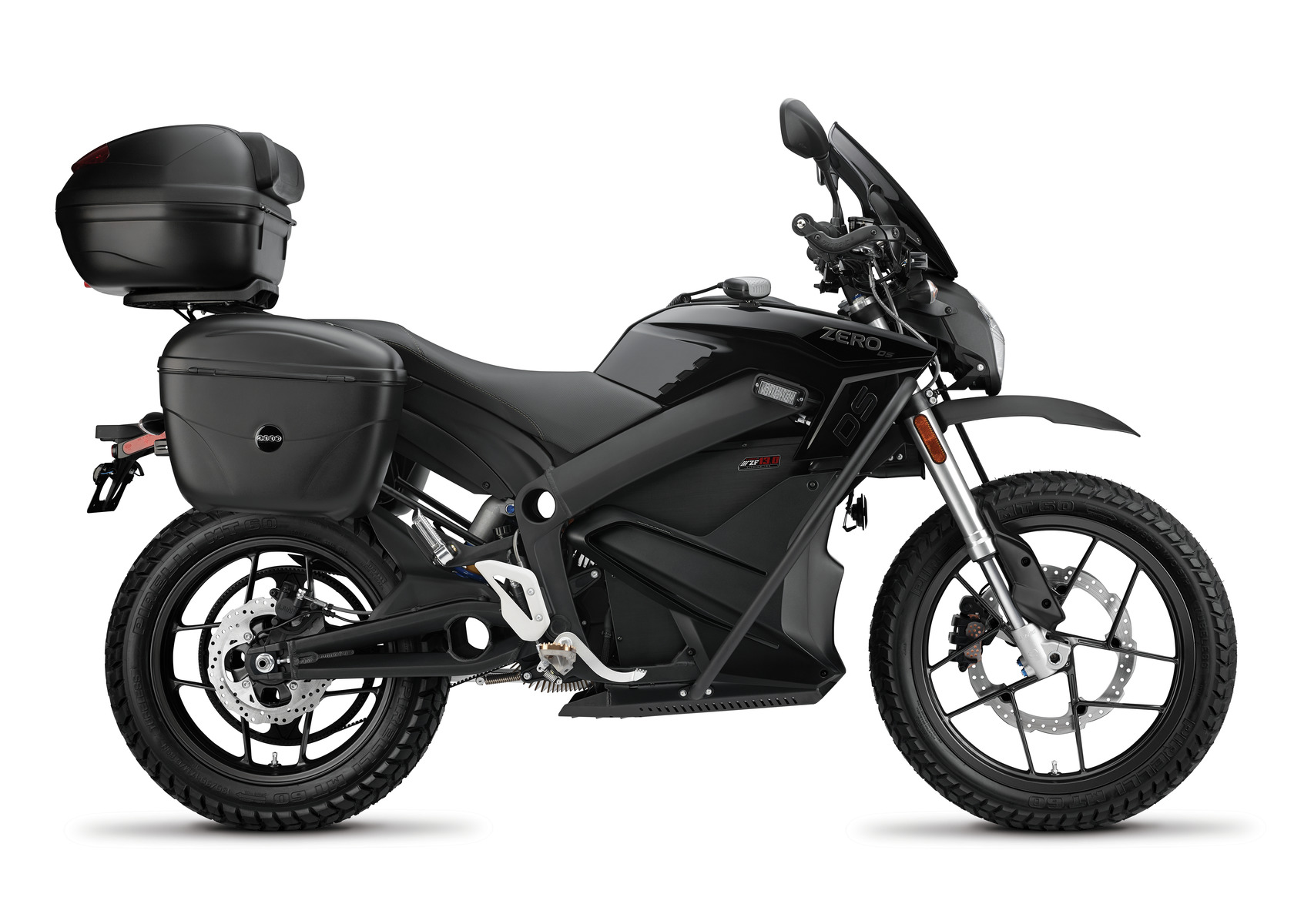 2016 Zero DSP Electric Motorcycle: Right profile, White Background