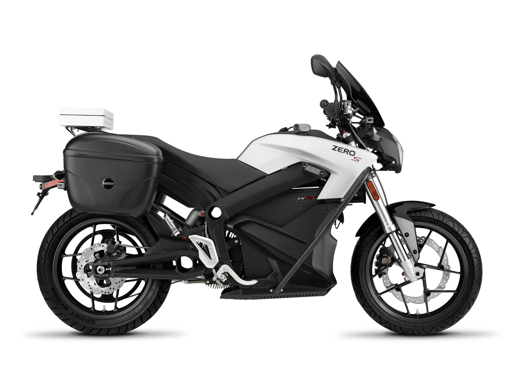 2016 Zero SP Electric Motorcycle: Right profile, White Background