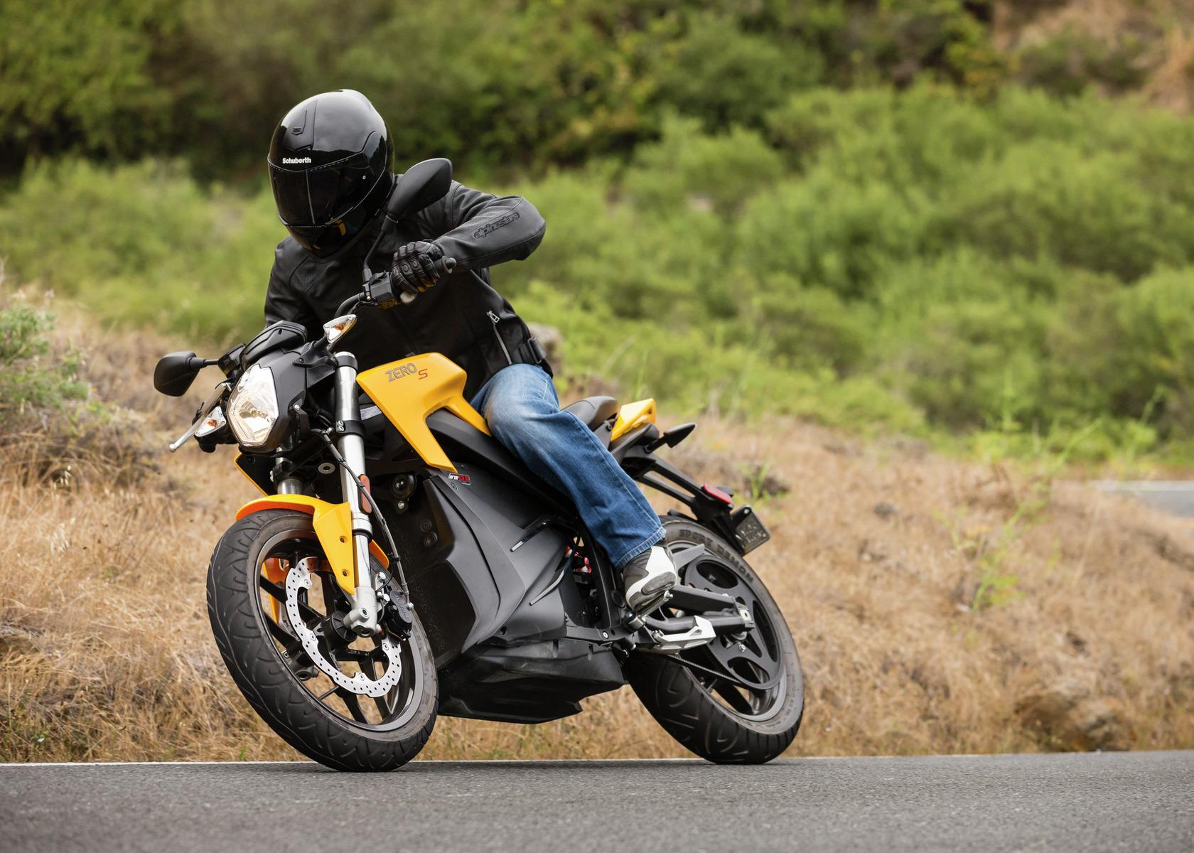 2016 Zero S Electric Motorcycle: