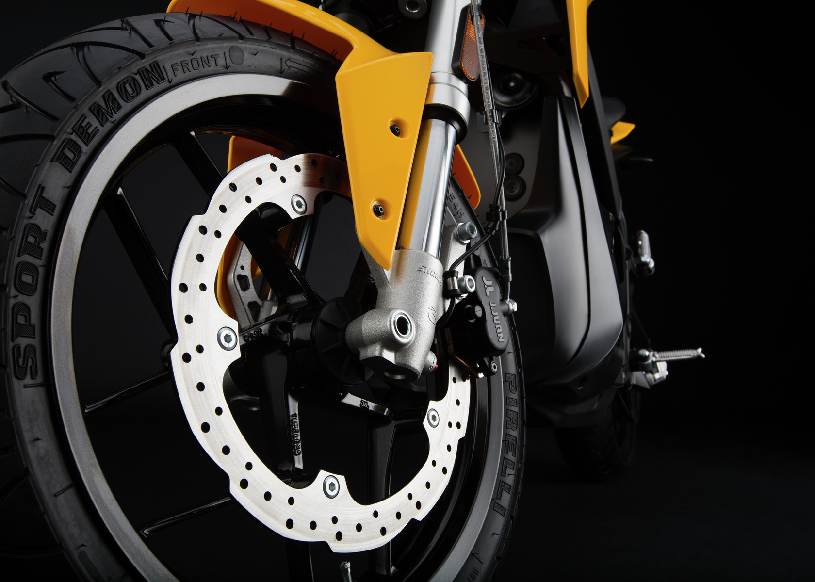 2016 Zero S Electric Motorcycle: Front Brake