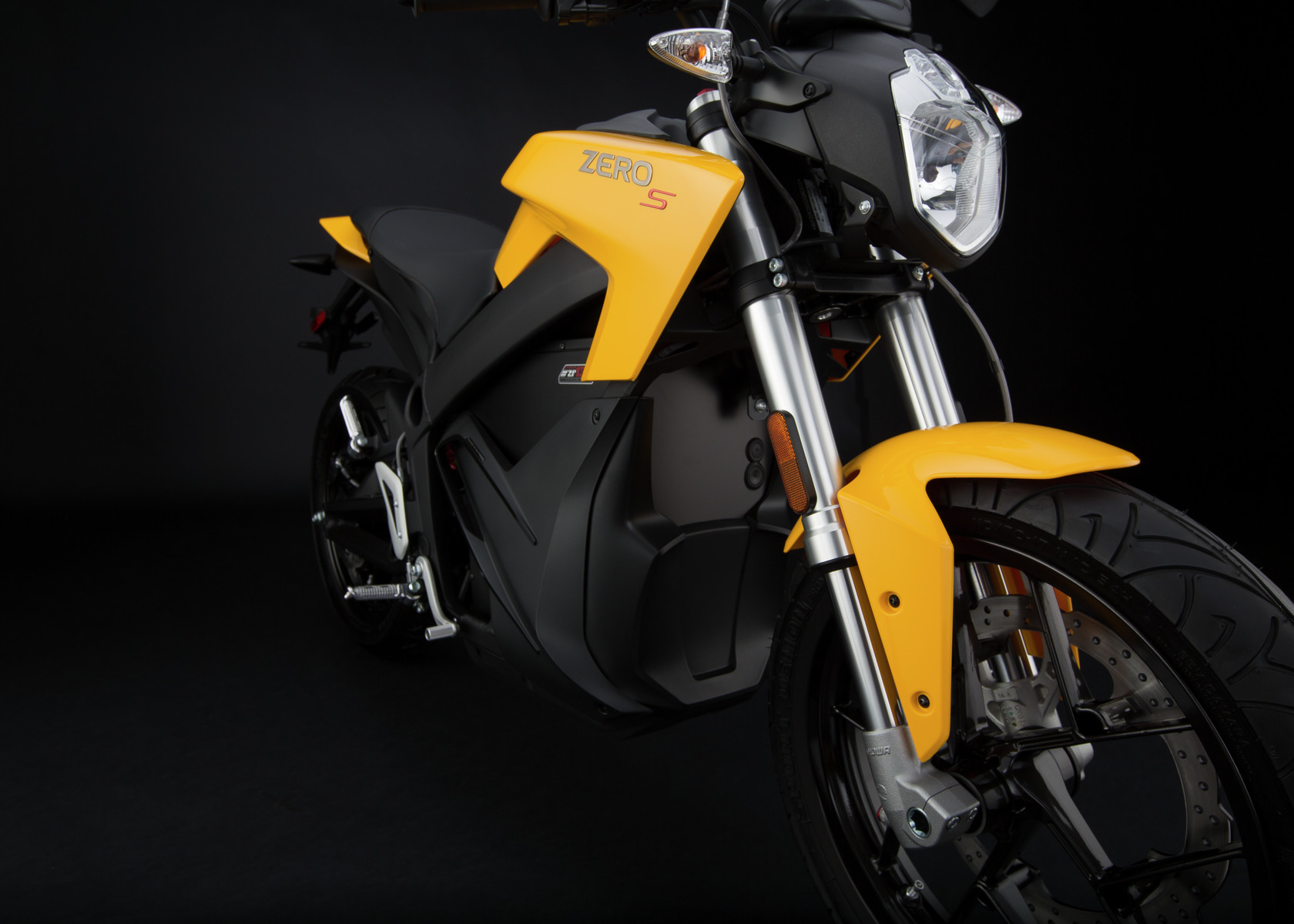 2016 Zero S Electric Motorcycle: Front Fork