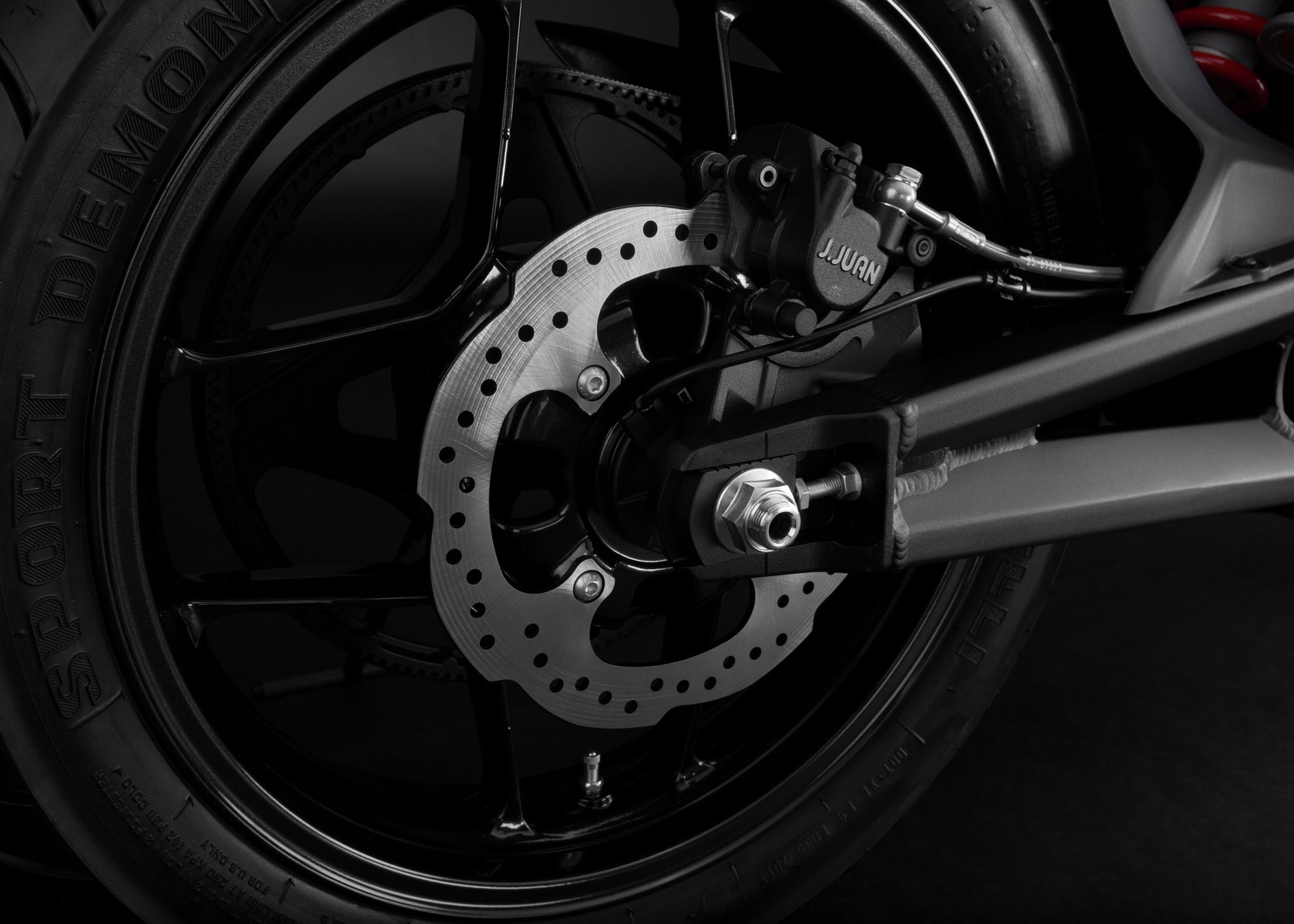2016 Zero S Electric Motorcycle: Rear Brake