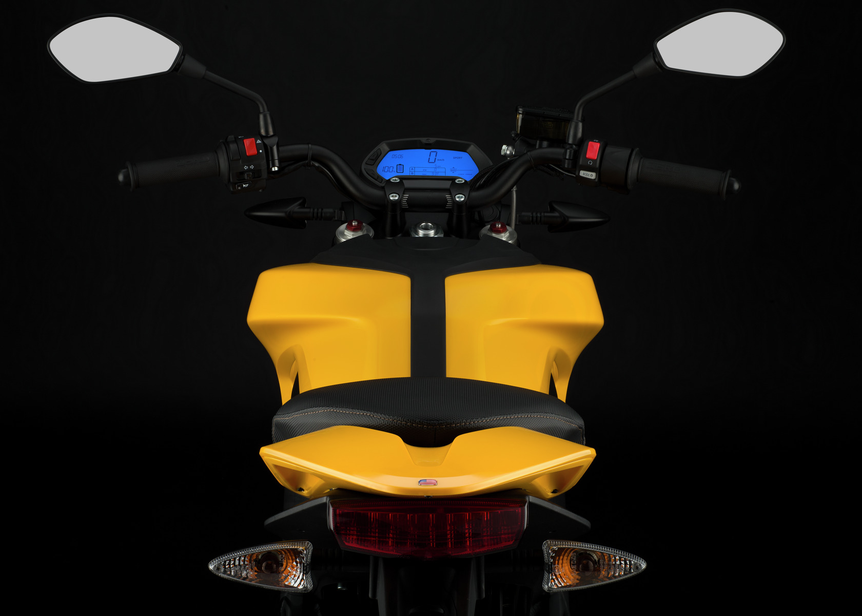 2016 Zero S Electric Motorcycle: Rear