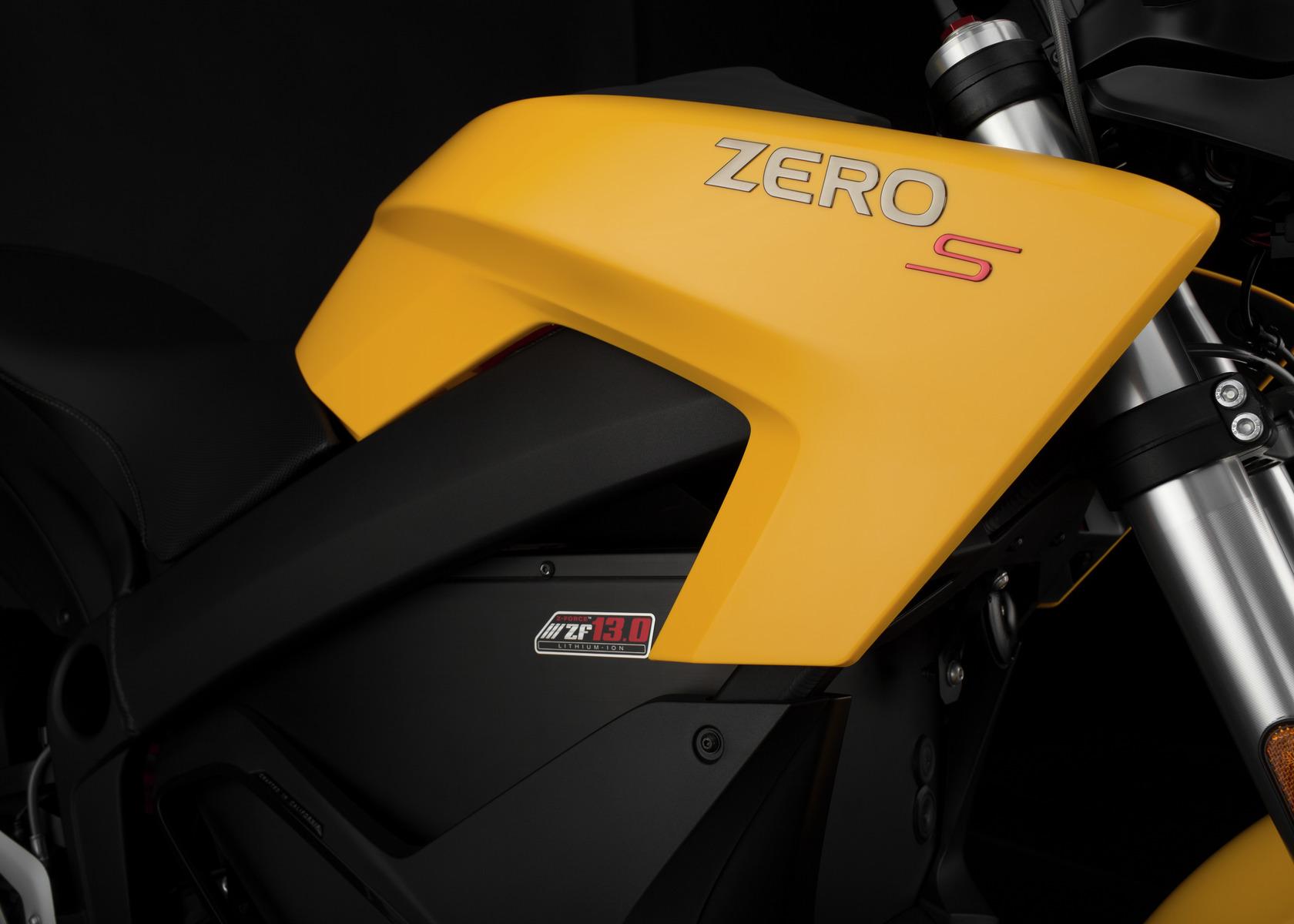 2016 Zero S Electric Motorcycle: Tank