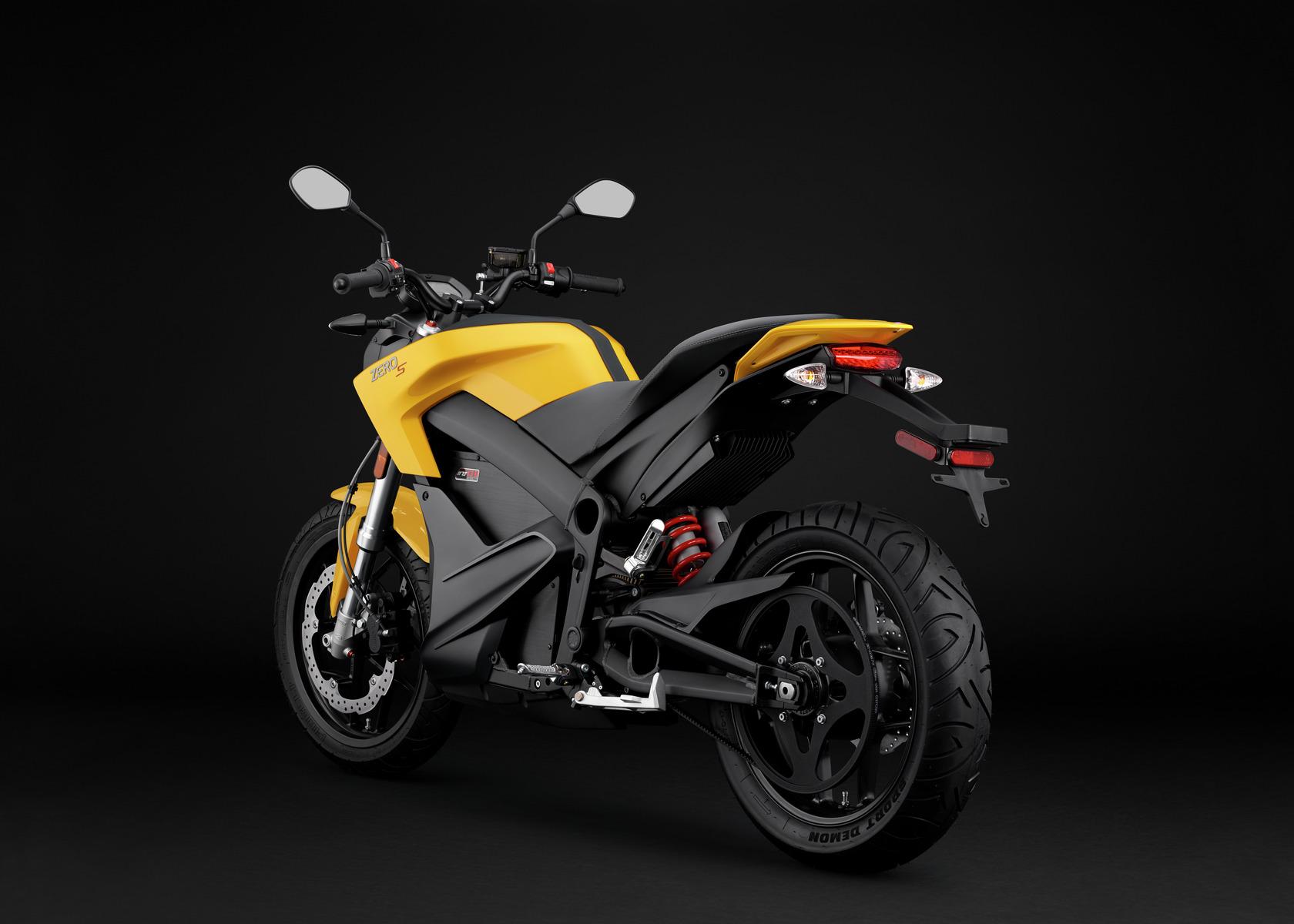 2016 Zero S Electric Motorcycle: Angle Left