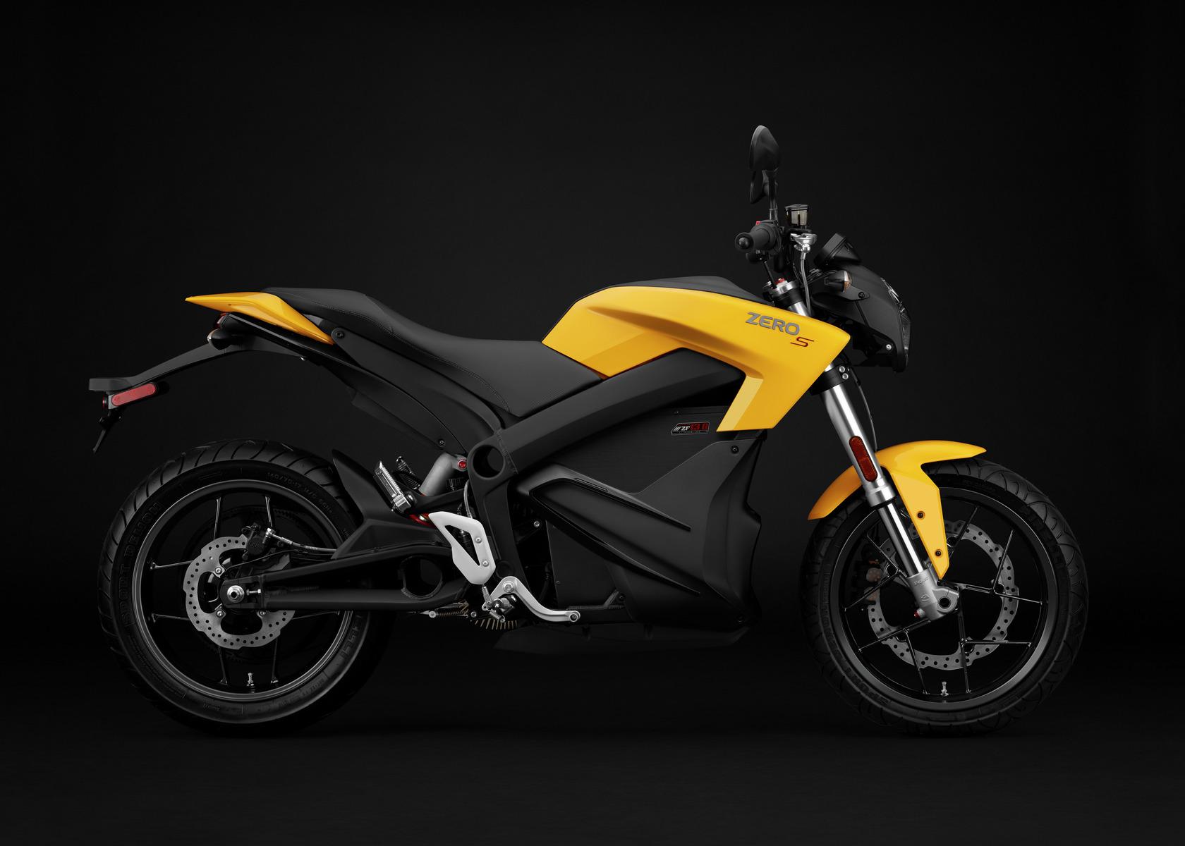 2016 Zero S Electric Motorcycle: Profile Right